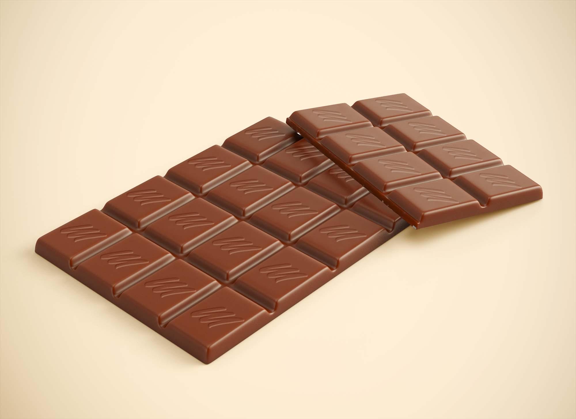 Chocolate Mockup 3