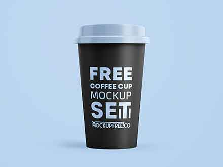 Coffee Paper Cups Mockup