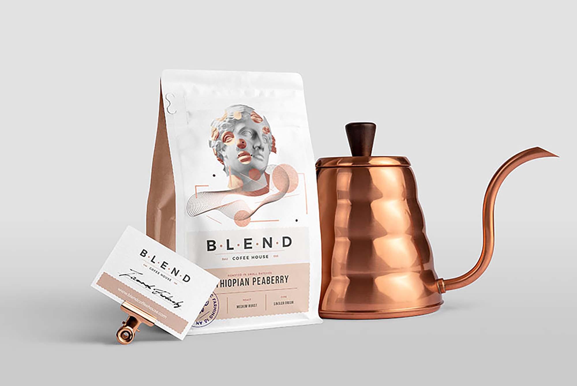 Coffeehouse Branding Mockup 1