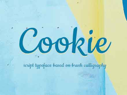 Cookie Script Font