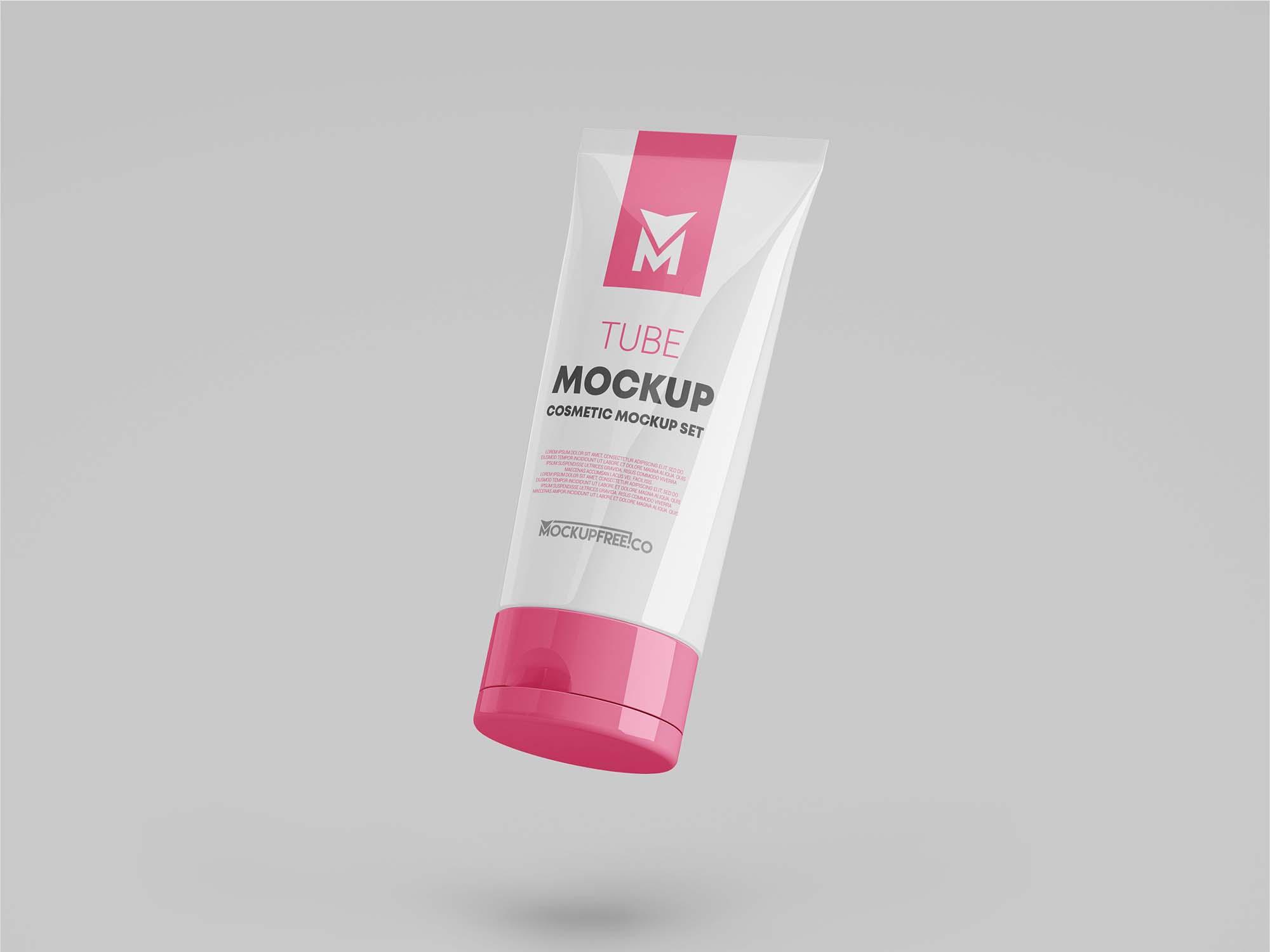 Cosmetic Tube Mockup 2
