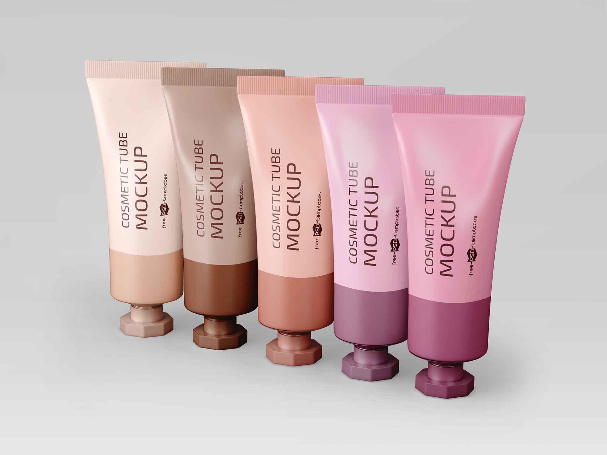 Cosmetic Tubes Mockup 3