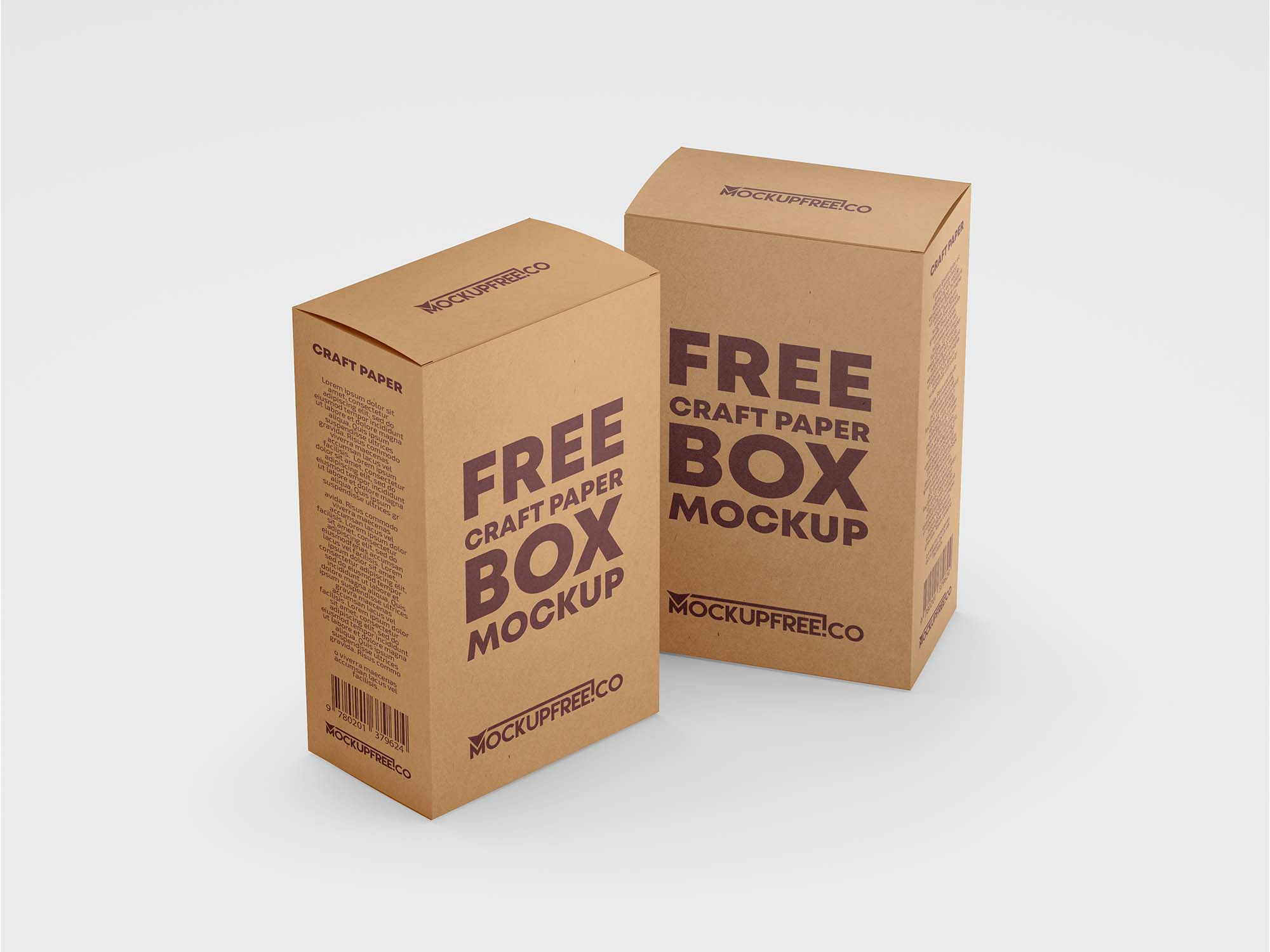 Craft Box Mockup