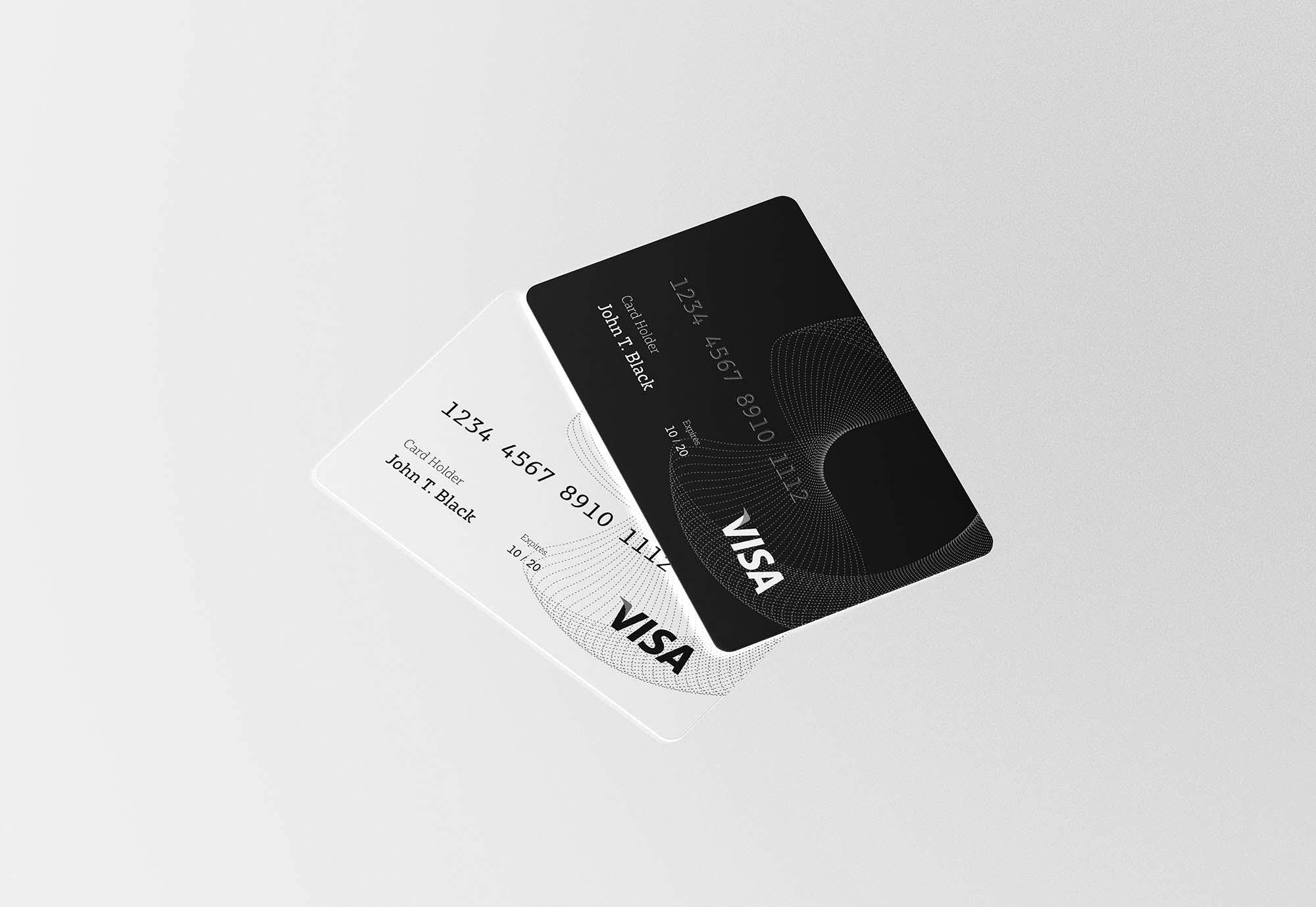 Credit Card Mockup 2