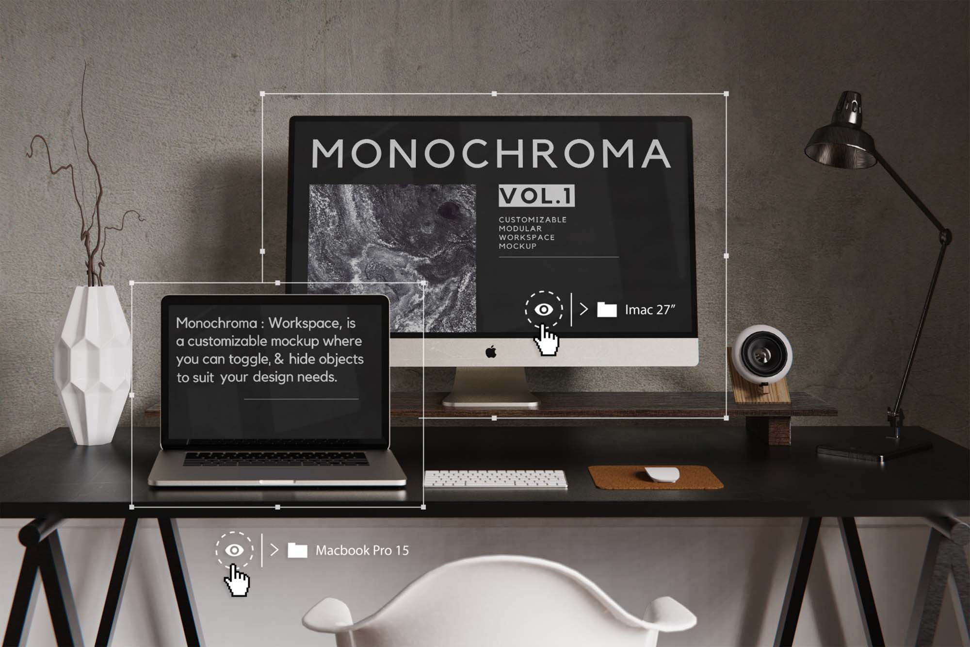 Customizable Workspace Mockup 1