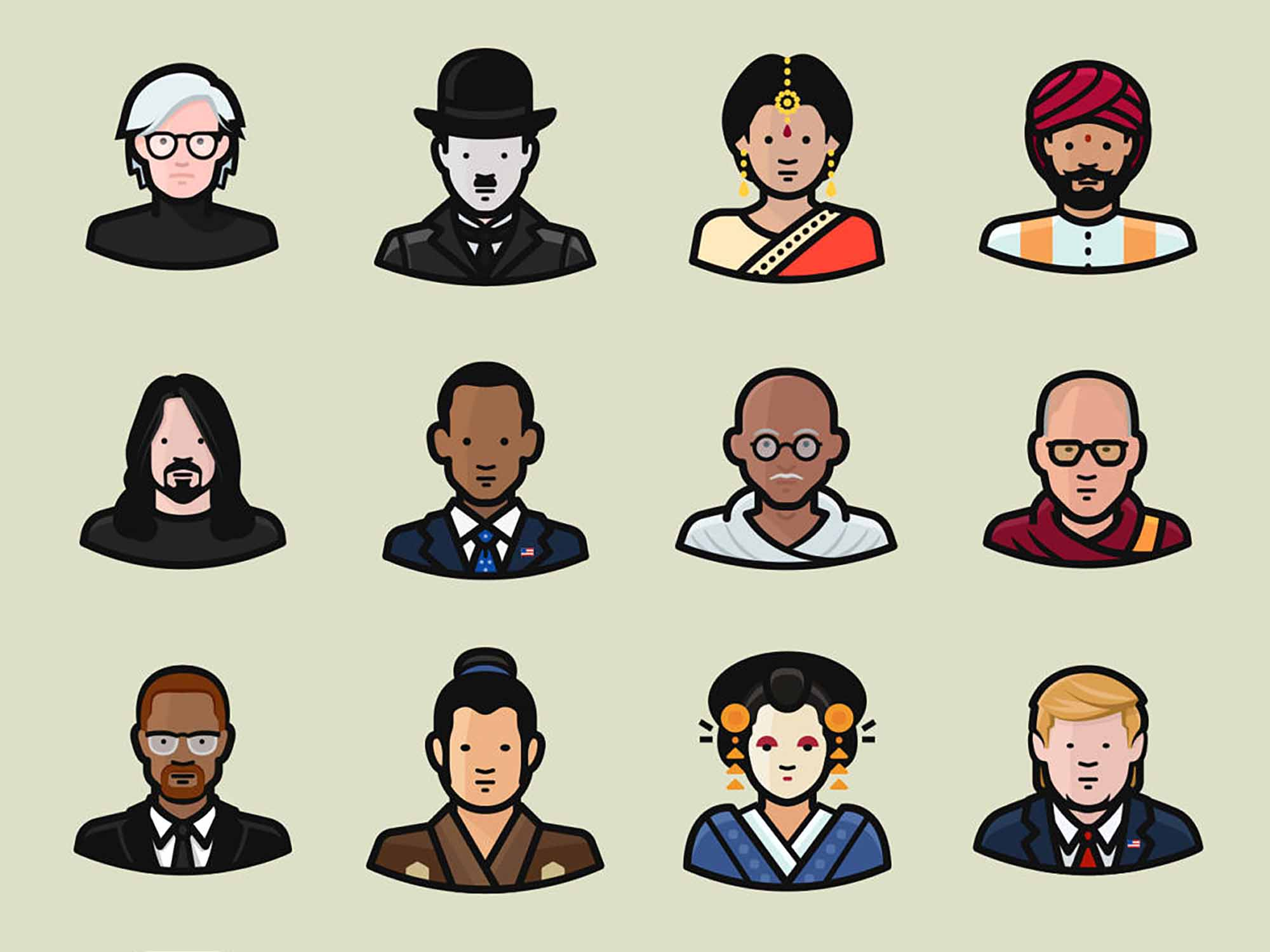 Diversity Vector Avatars 2