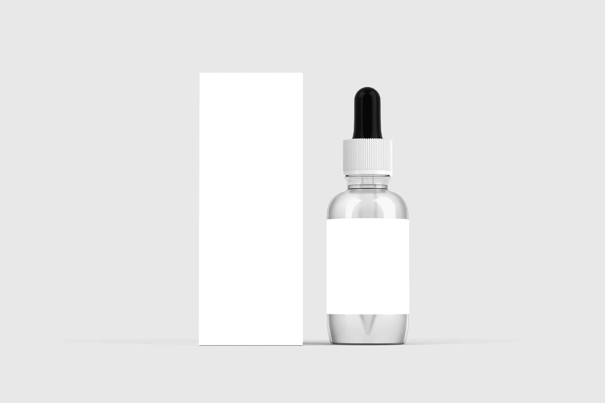 Dropper Bottle Packaging Mockup 2