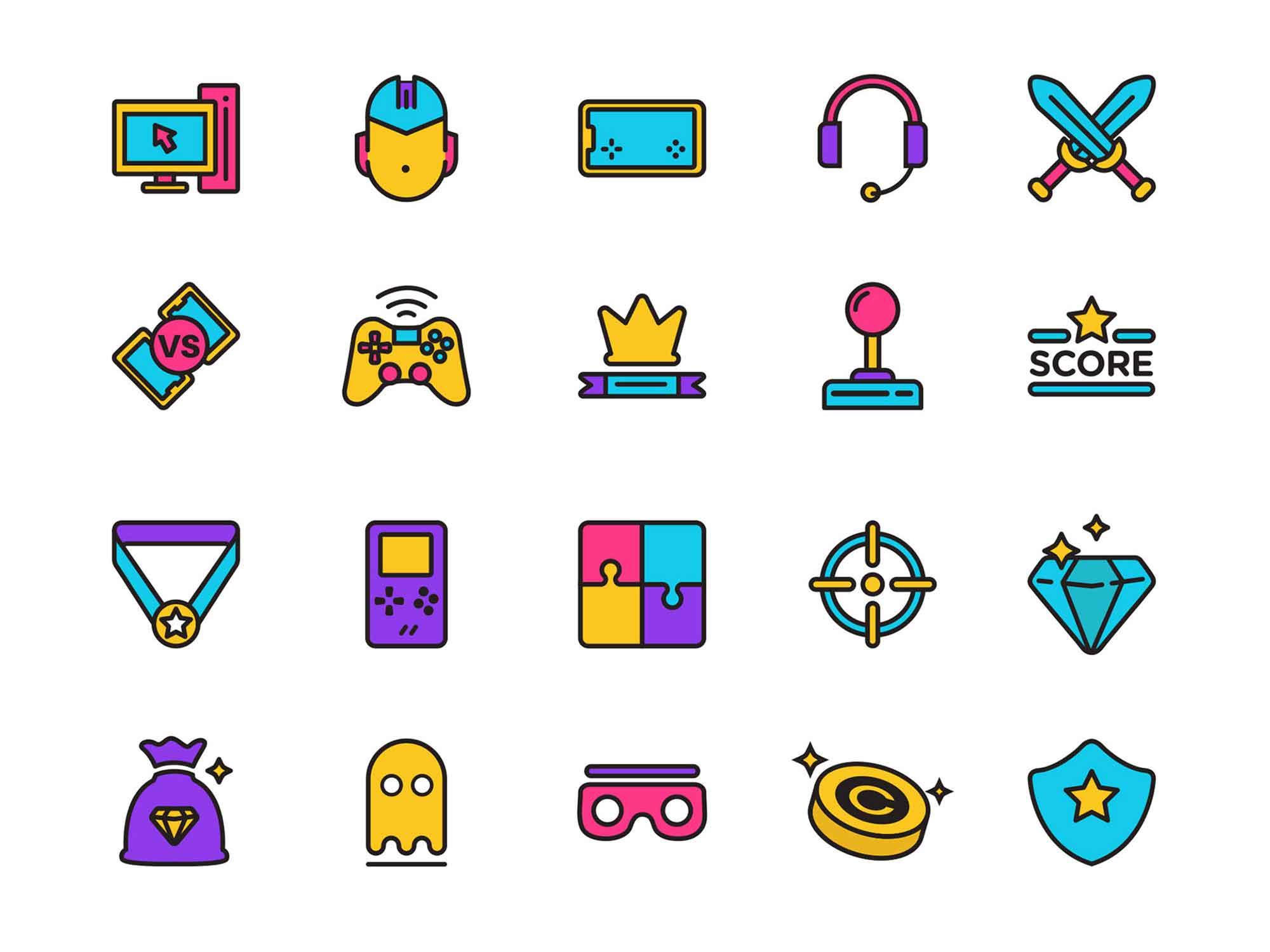 Esport Vector Icons