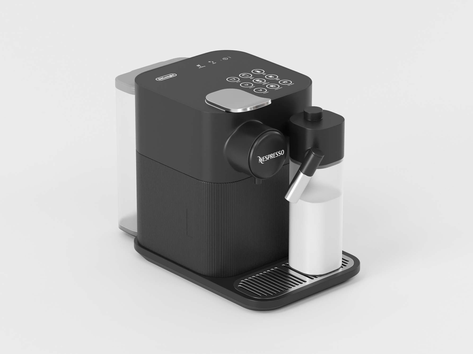 Espresso Machine 3D Model 2