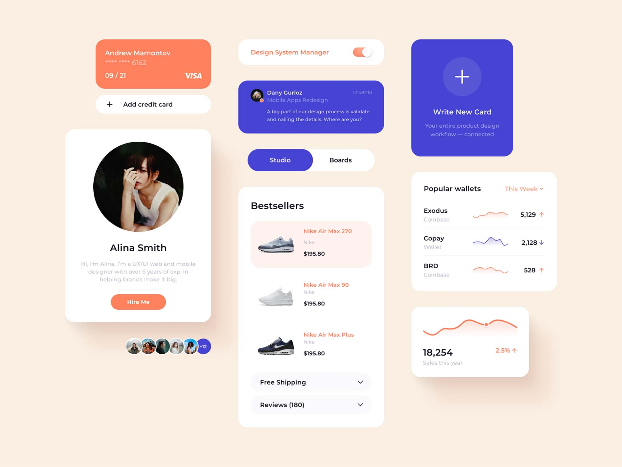 Figma User Interface Elements 1