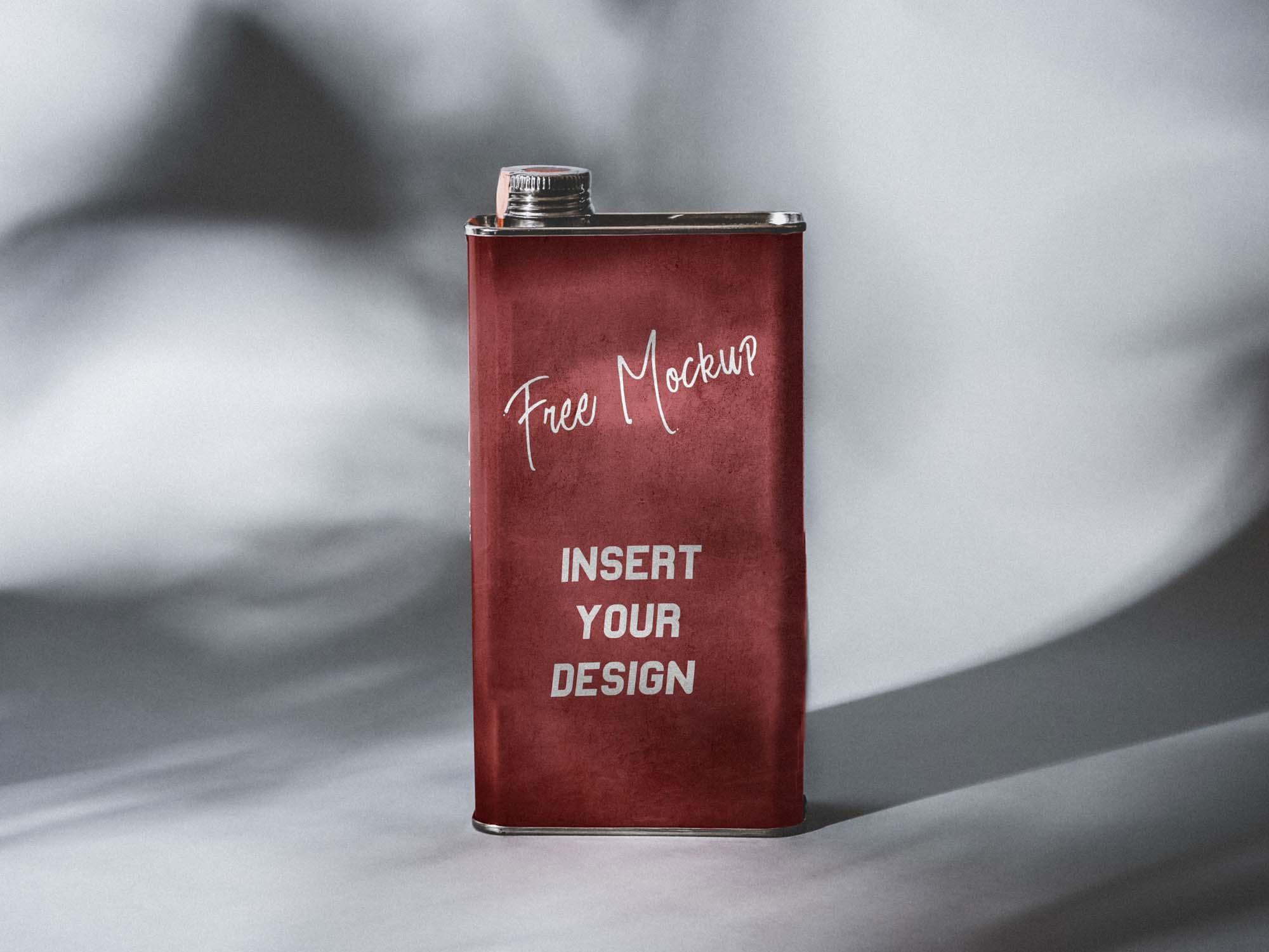 Flask Mockup