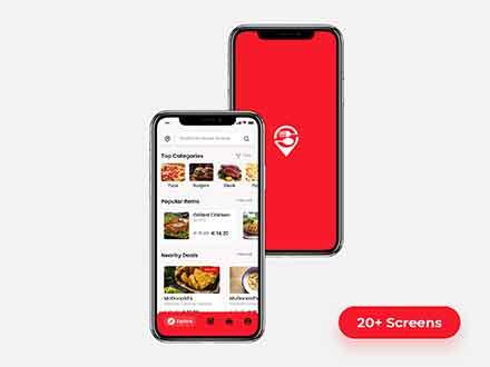 Food Order App Template