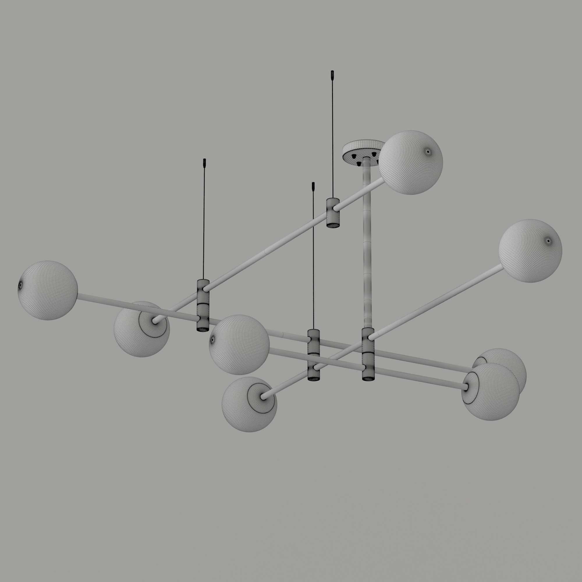 GAP Pendant Lamp 3D Model 2