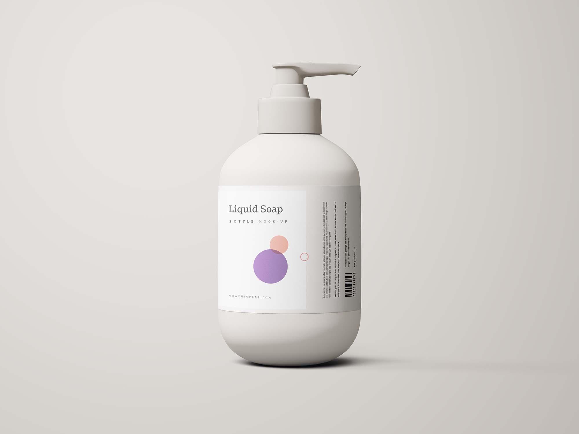 Hand Sanitizer Mockup