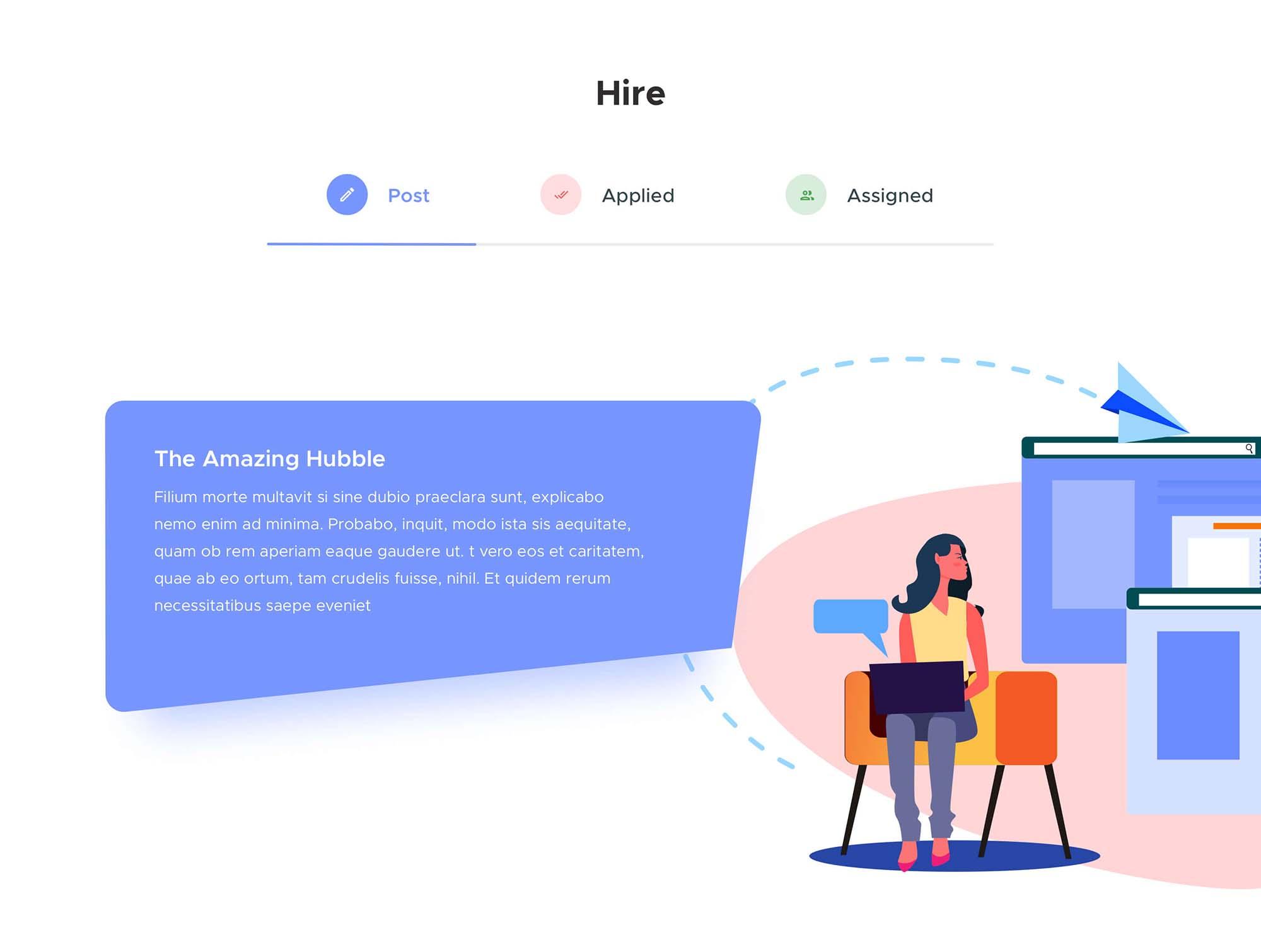 Job Hiring Landing Page Template 2