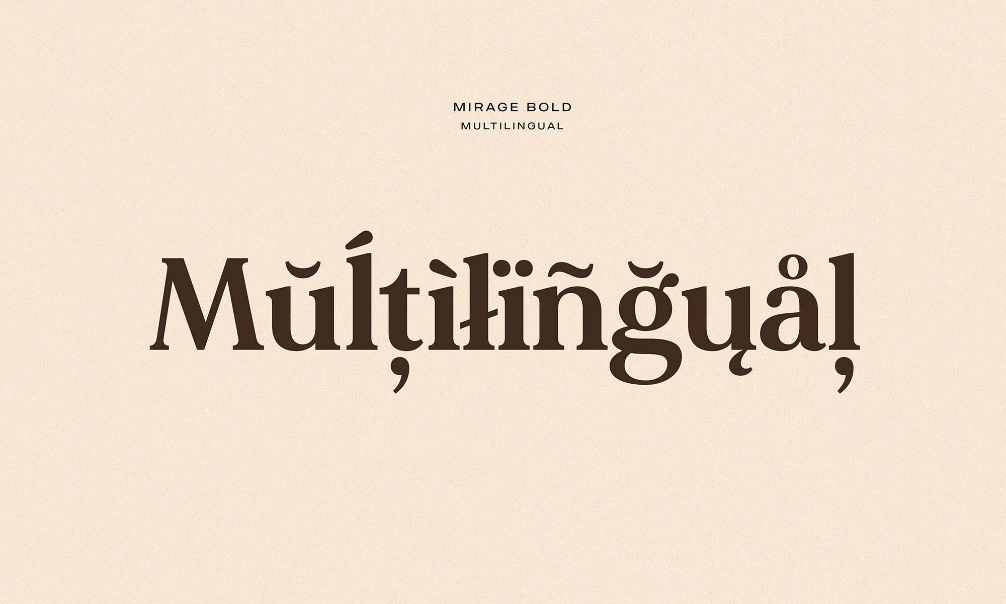 Made Mirage Serif Font Multilingual