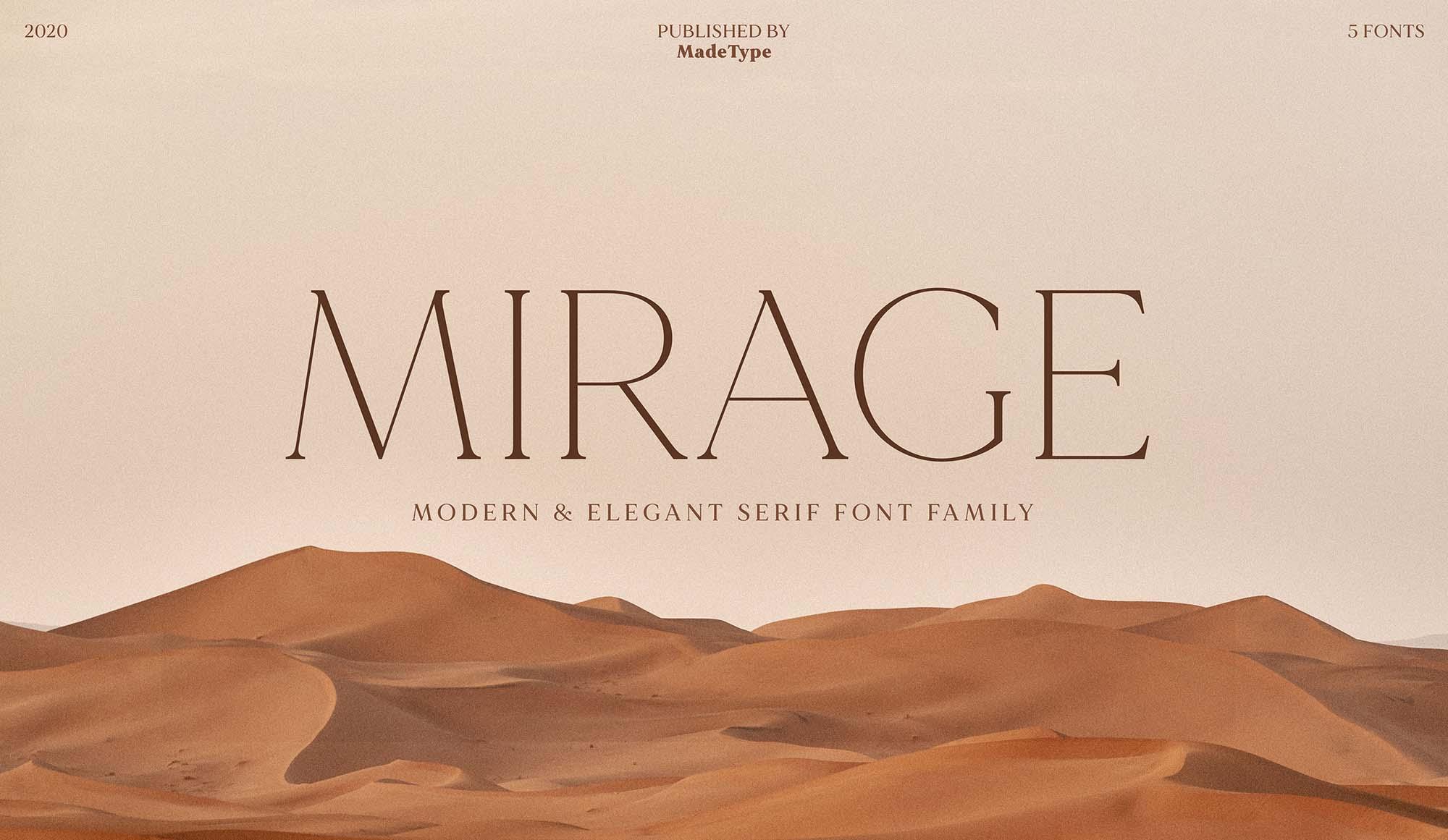 Made Mirage Serif Font