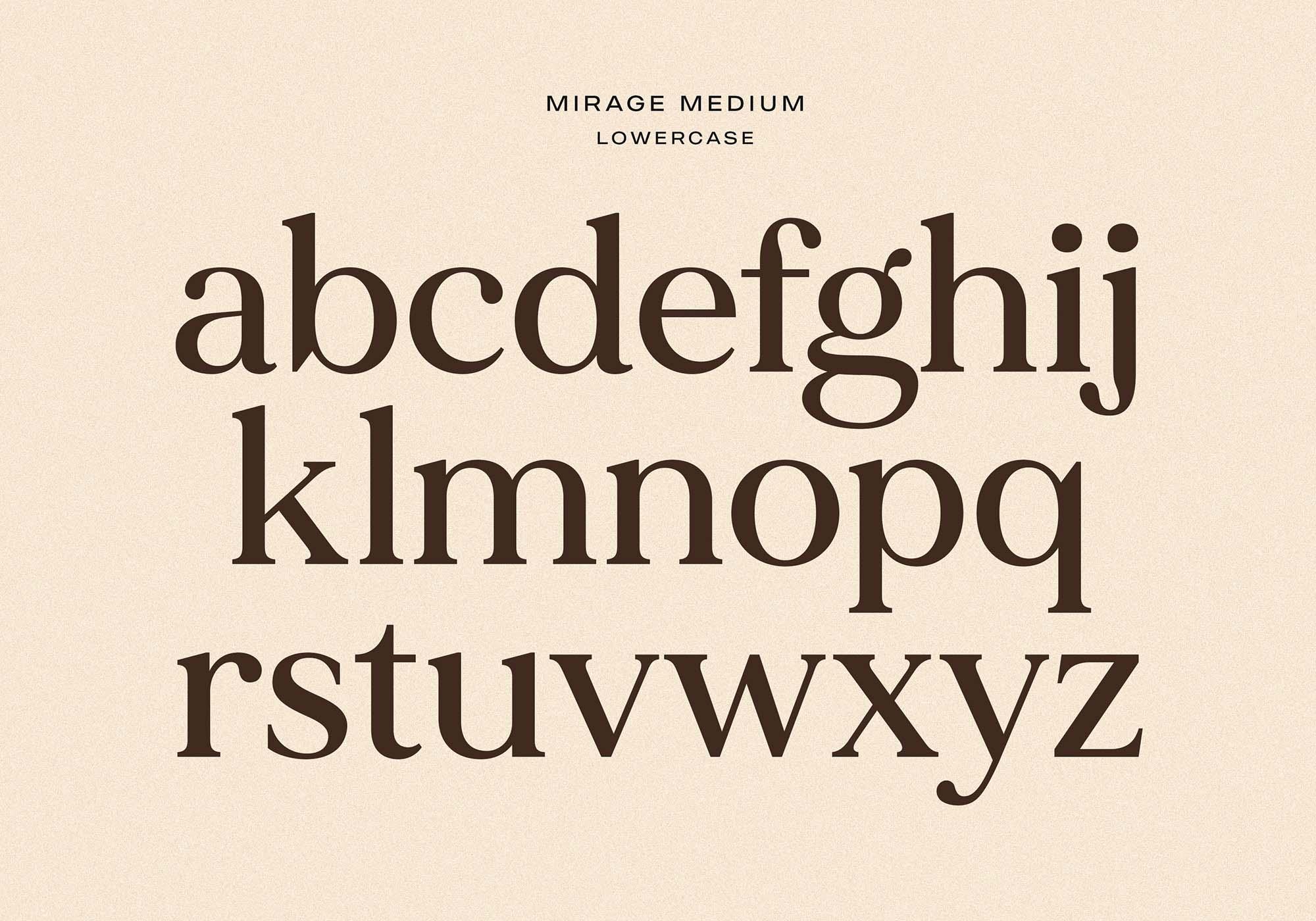 Made Mirage Serif Font 4