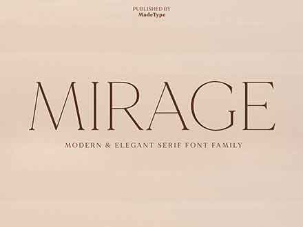 Made Mirage Serif Font