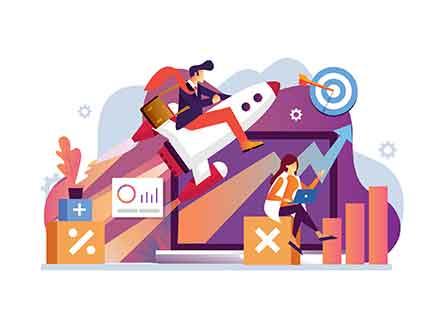 Marketing and Sales Illustration