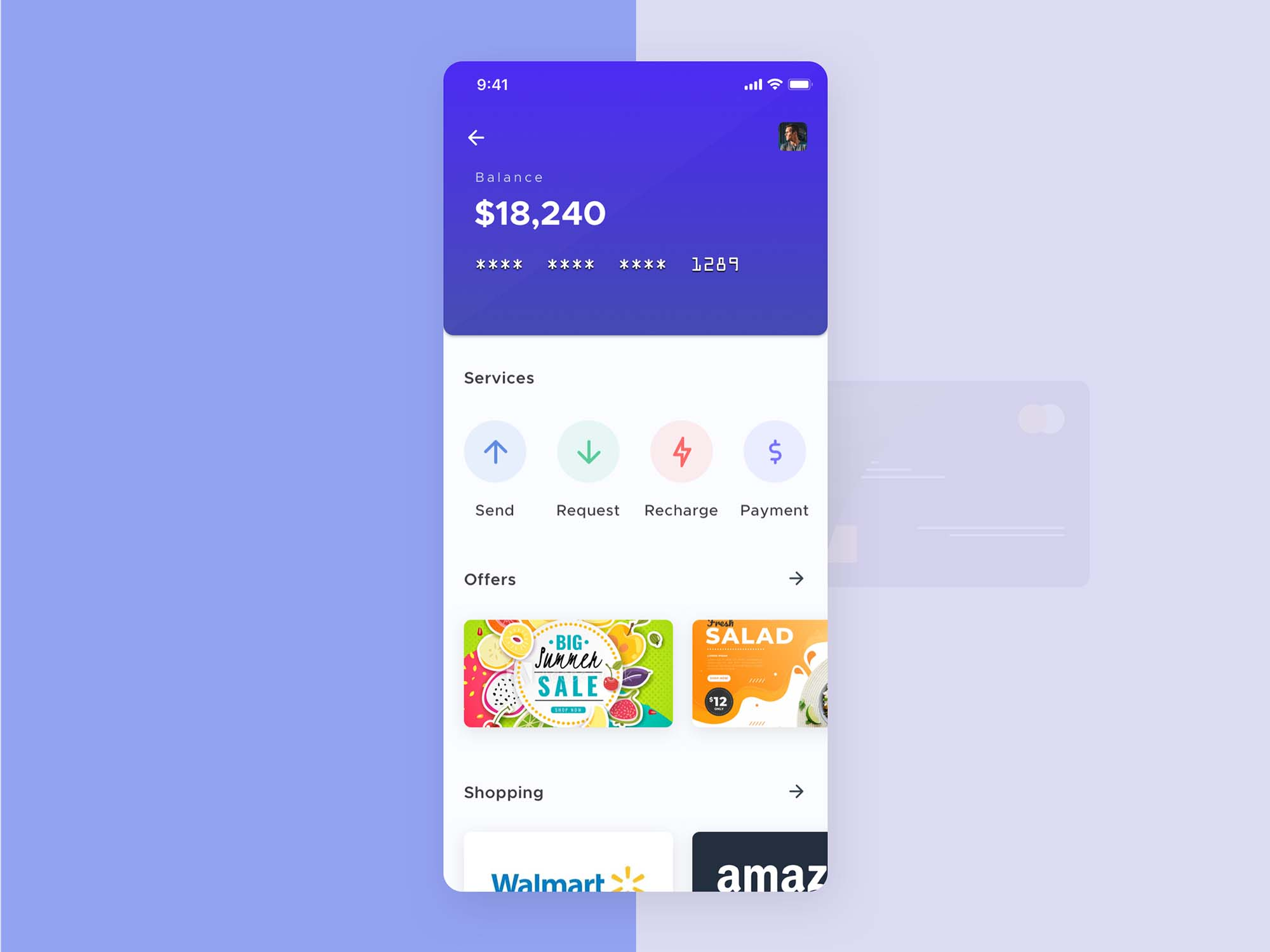 Mobile Wallet App Template 1