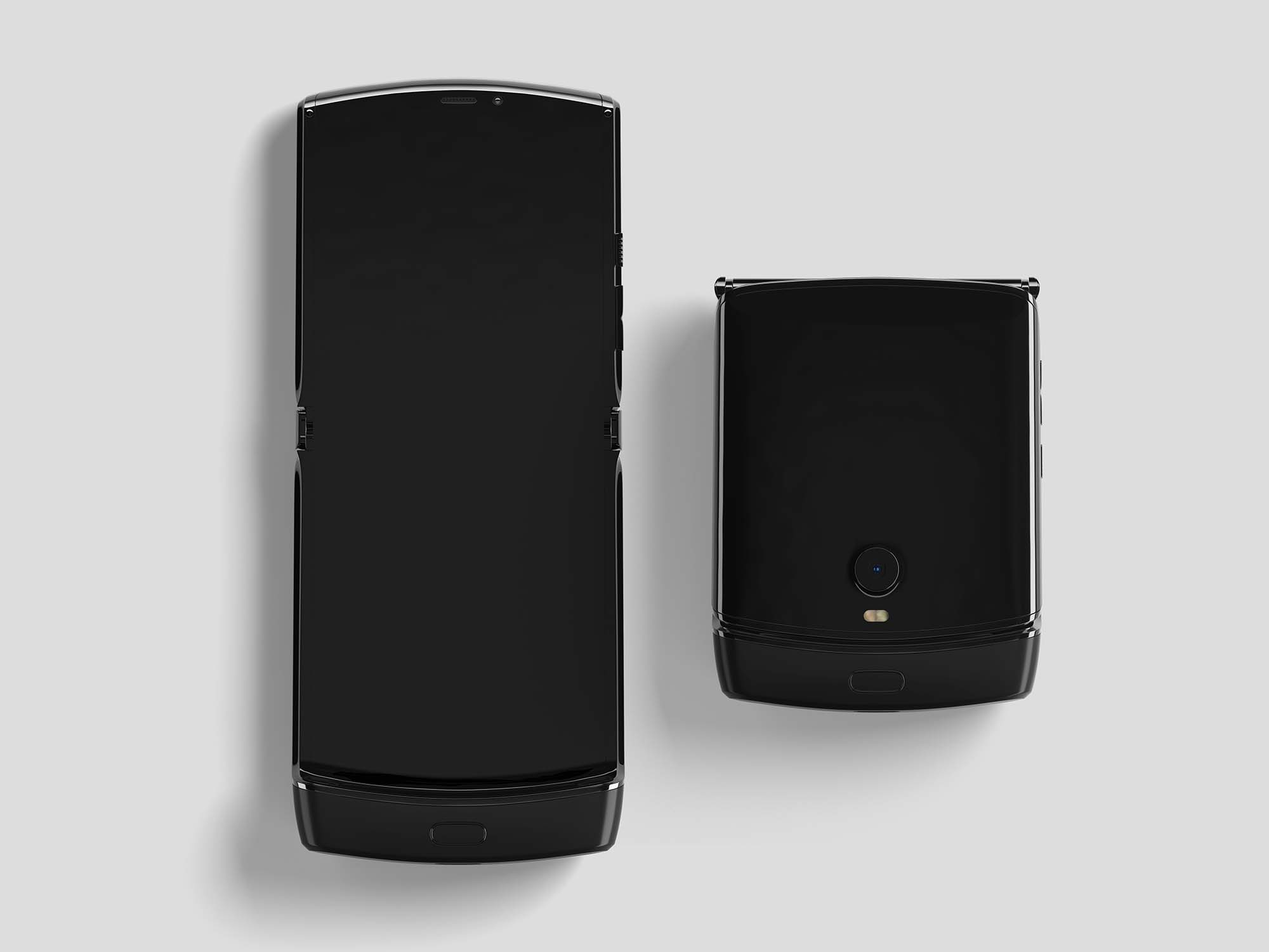 Motorola Razr Mockup