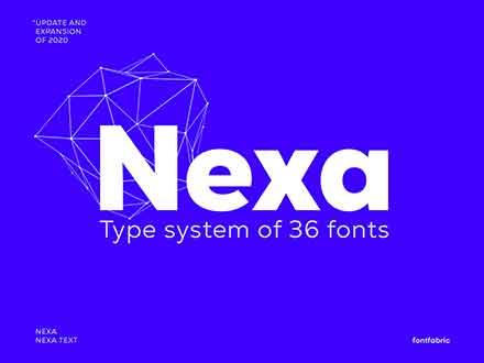 Nexa Font Family