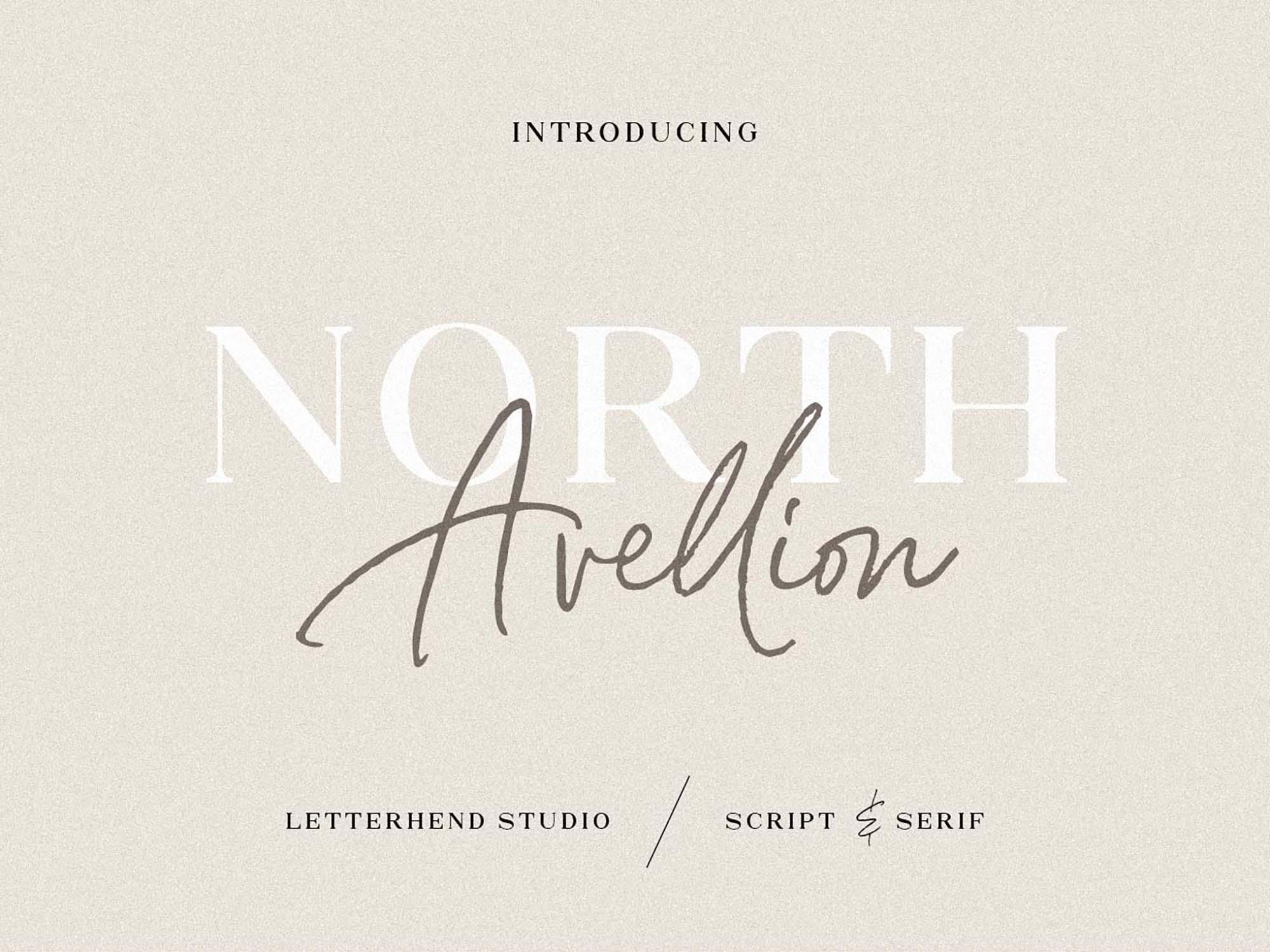 North Avellion Font