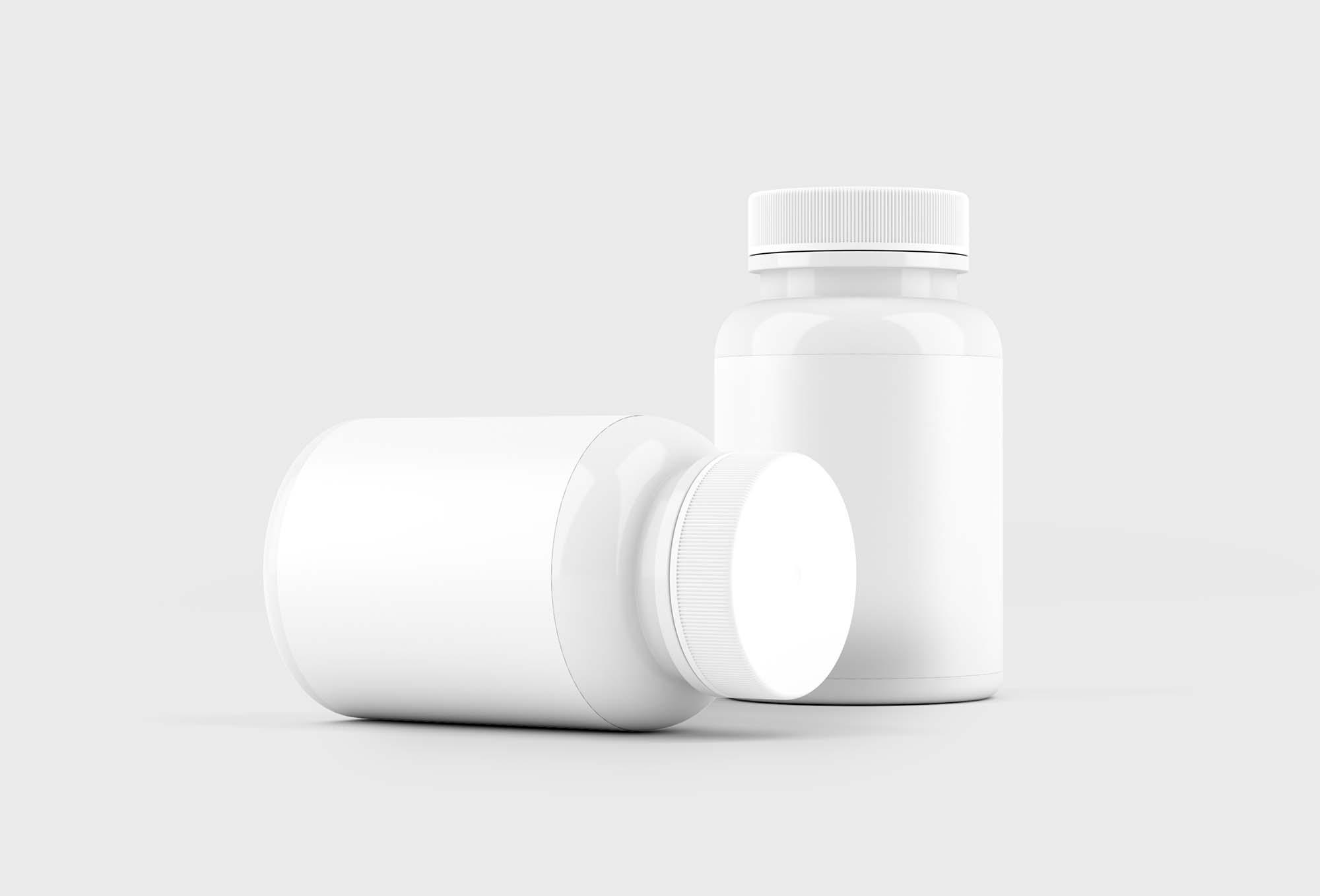 Pill Bottle Mockup 2