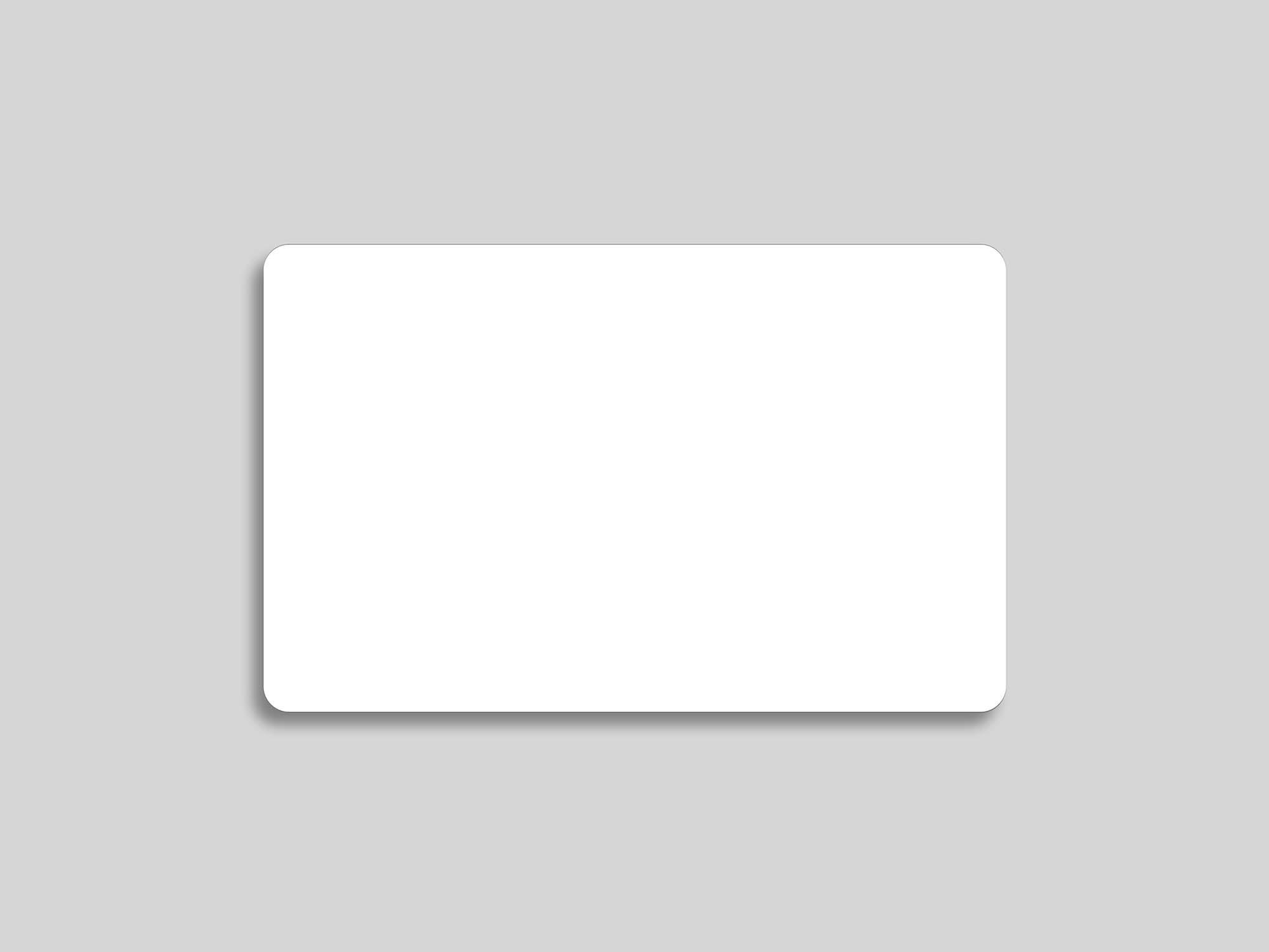 Plastic Debit Card Mockup 2