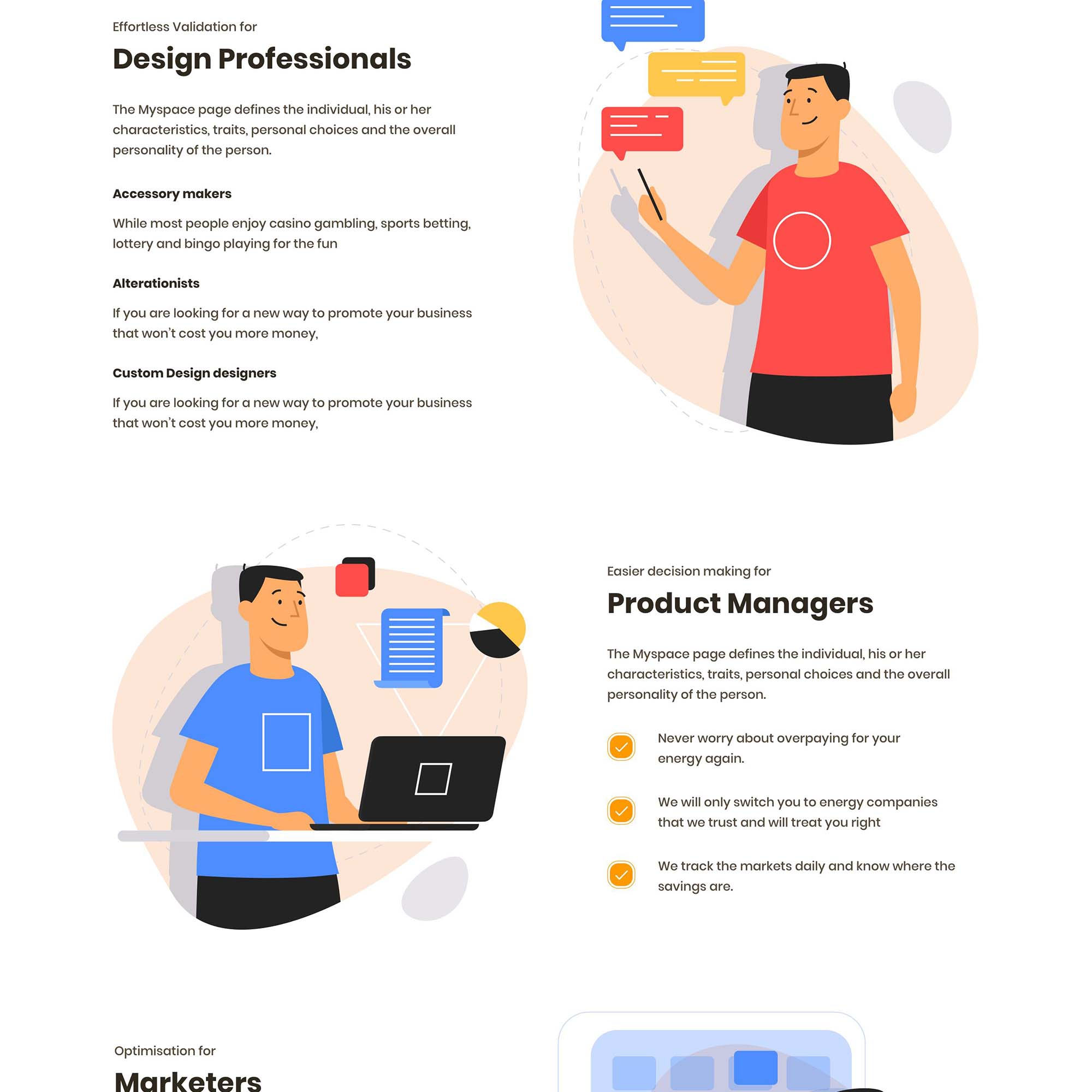Productly Landing Page 2