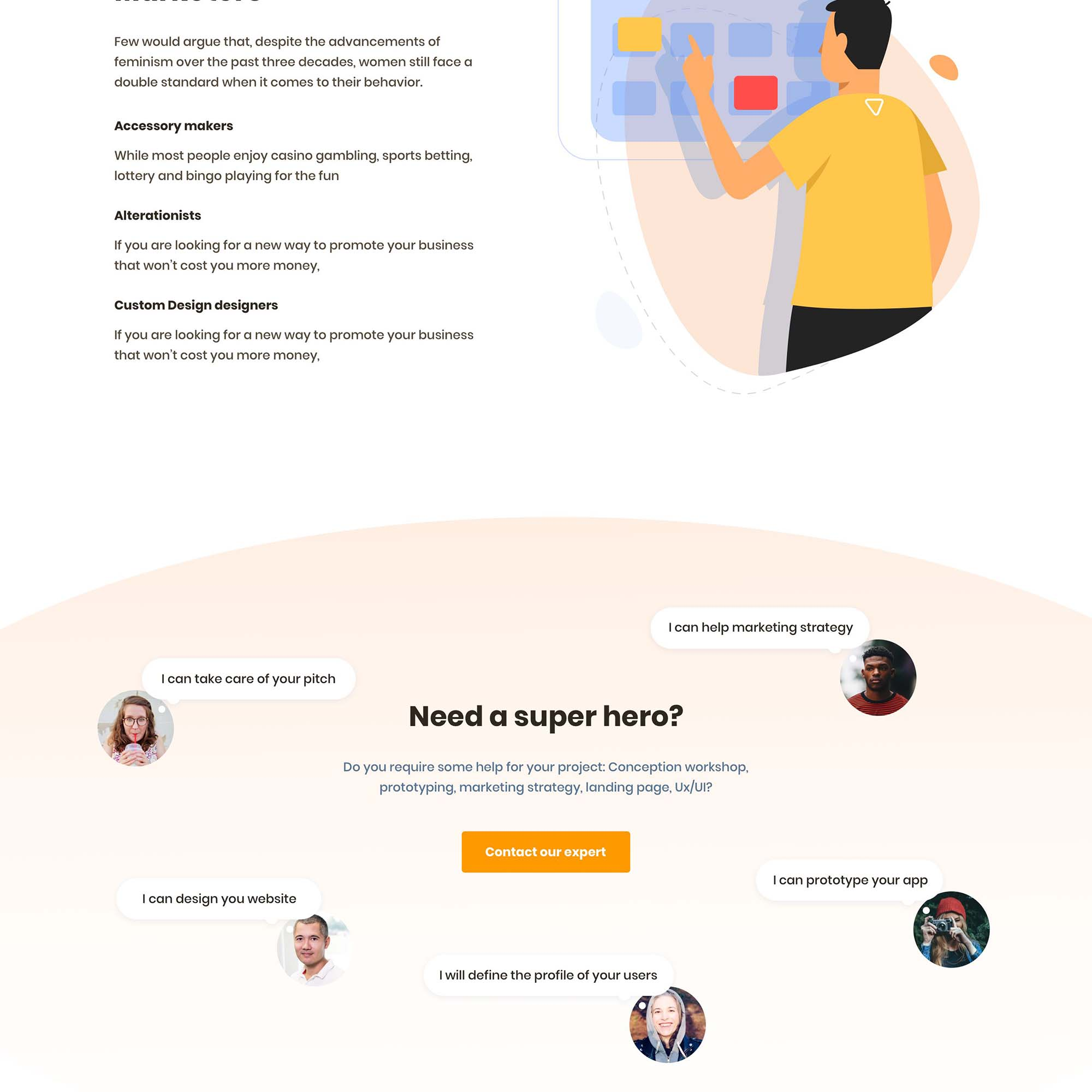 Productly Landing Page 3