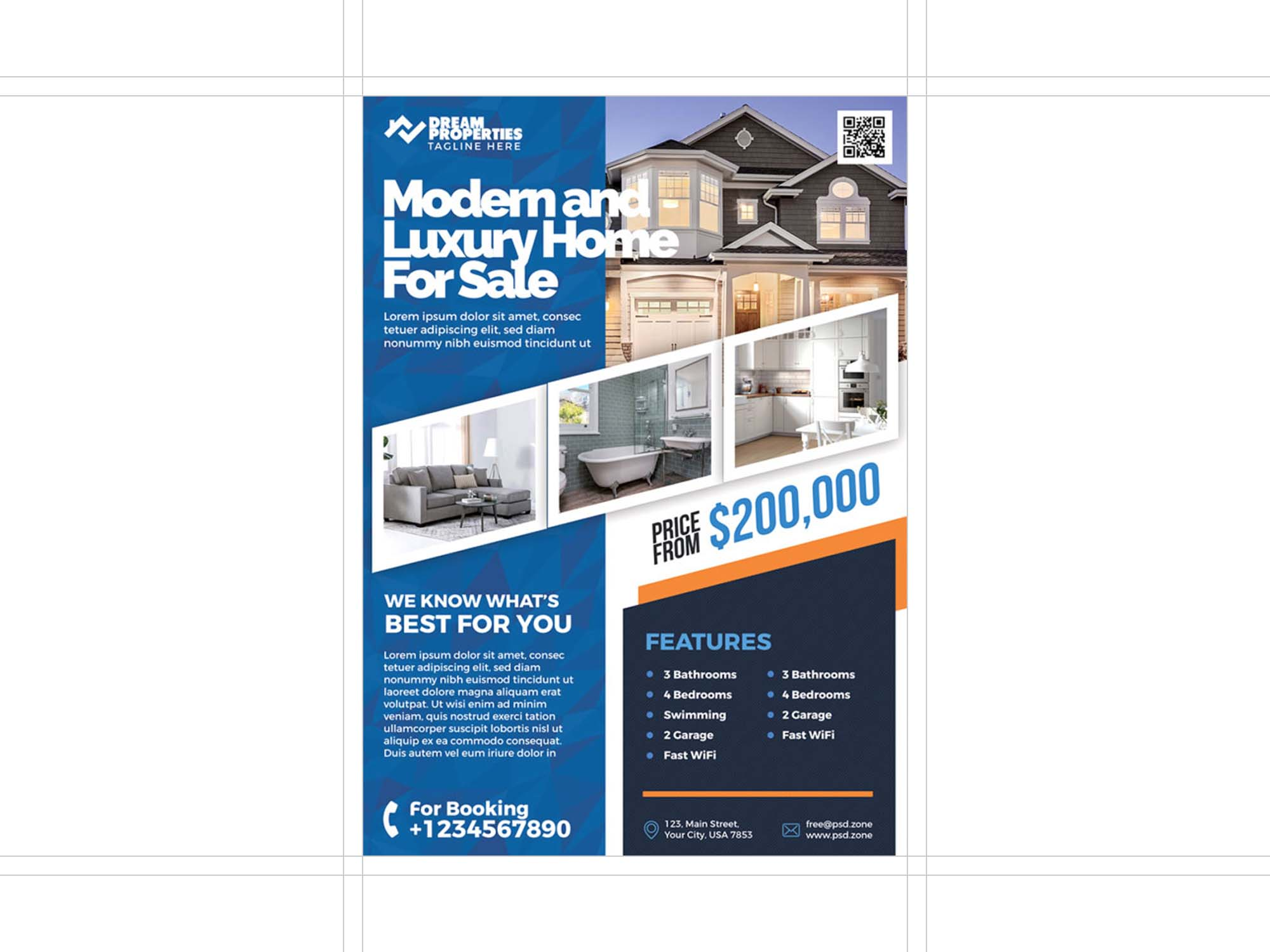 Free Real Estate Business Flyer