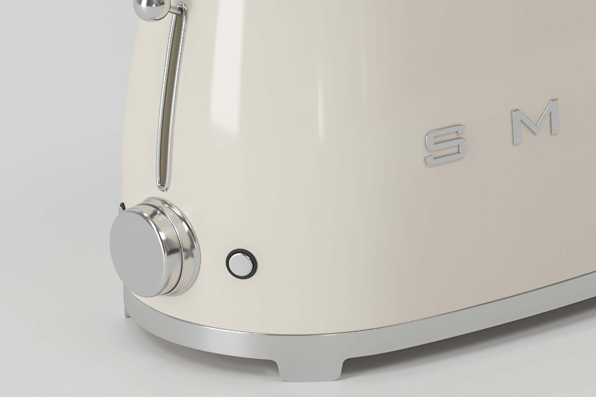 Smeg Toaster 3D Model 2