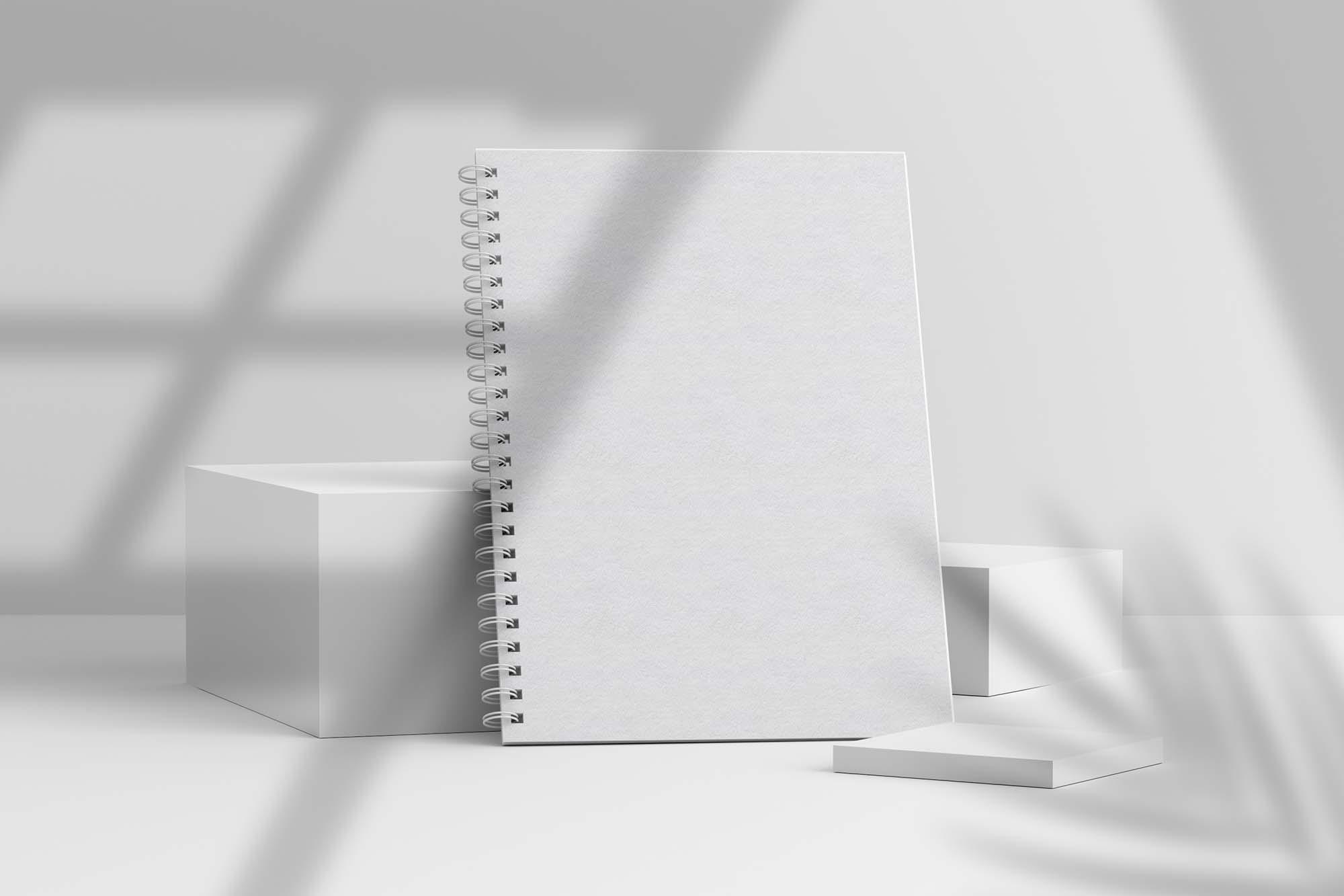 Spiral Notebook Mockup 2