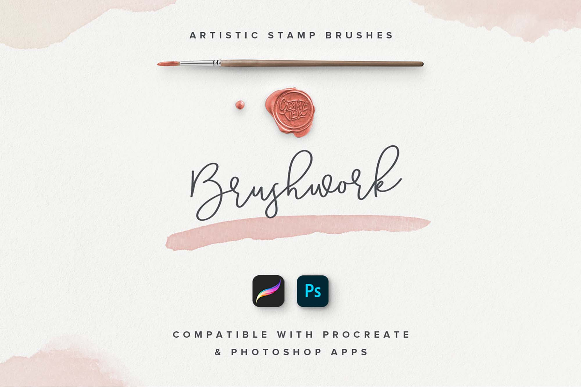 Stamp and Procreate Brushes