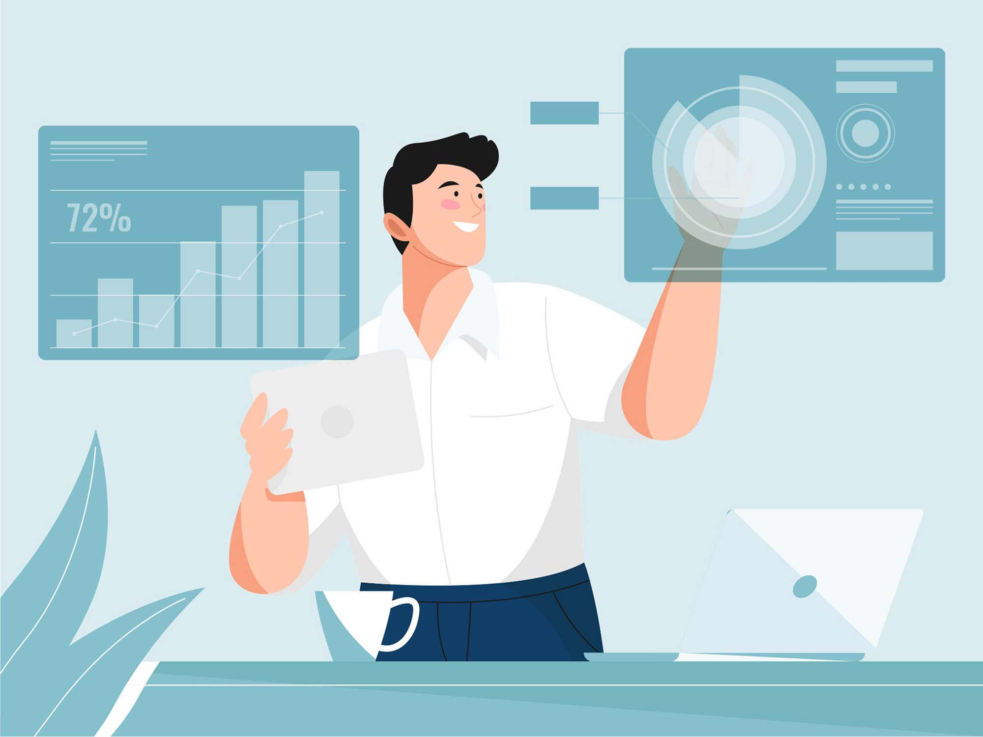Strategy Planning Illustration