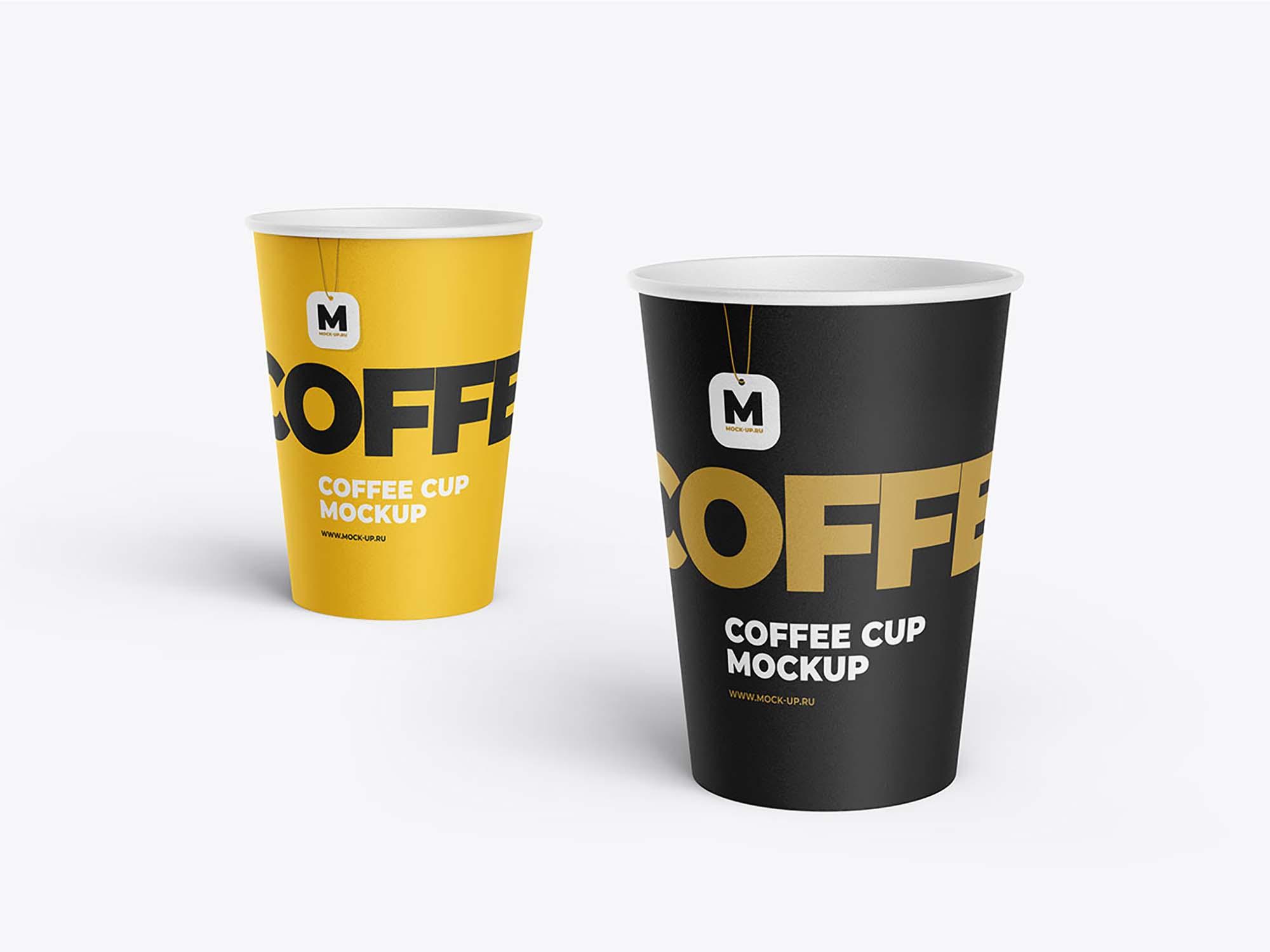 Tea and Coffee Cup Mockup 3