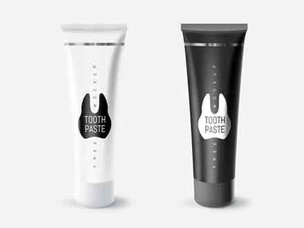 Toothpaste Tube Mockup