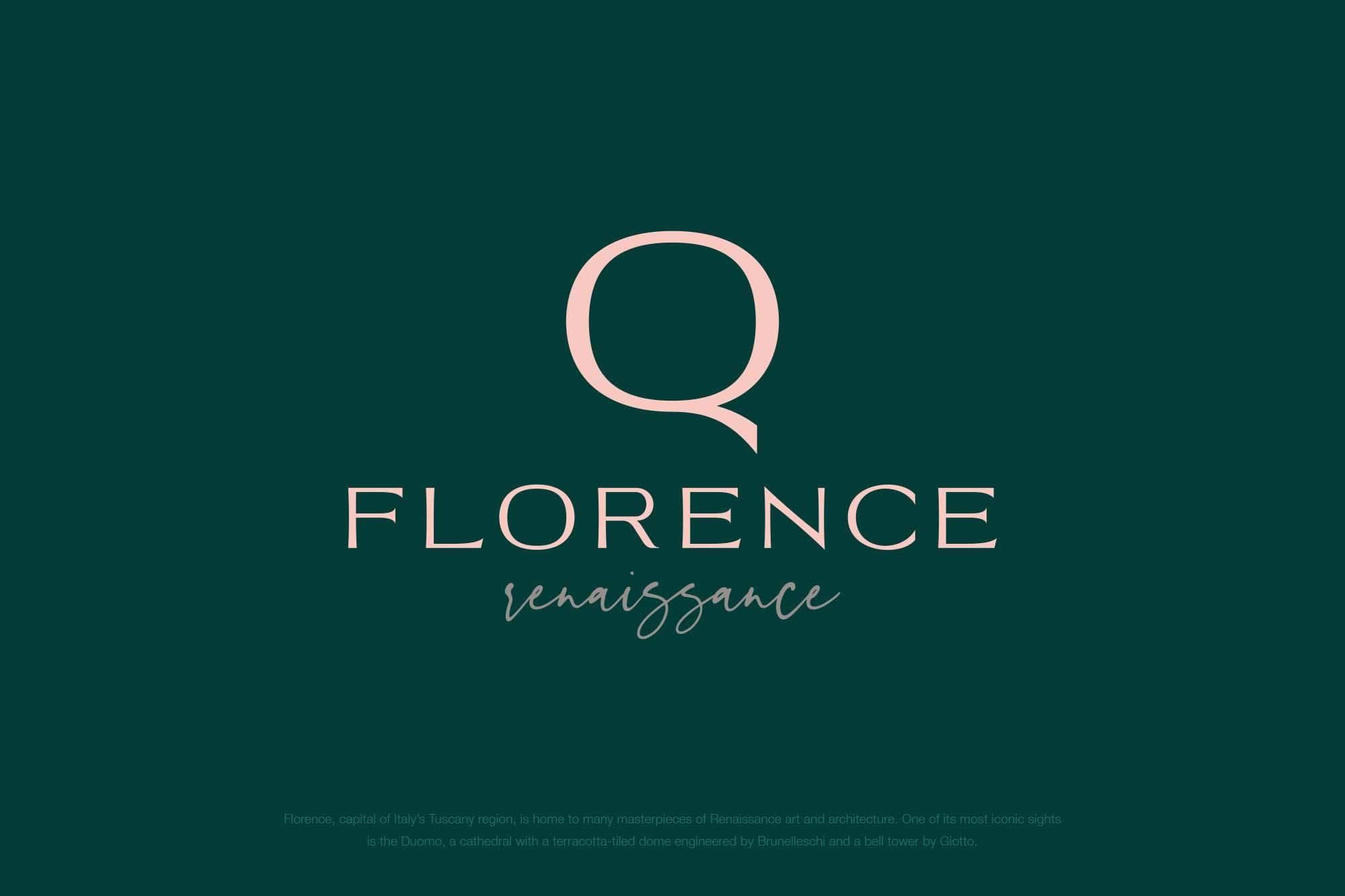Trento Luxury Typeface 01