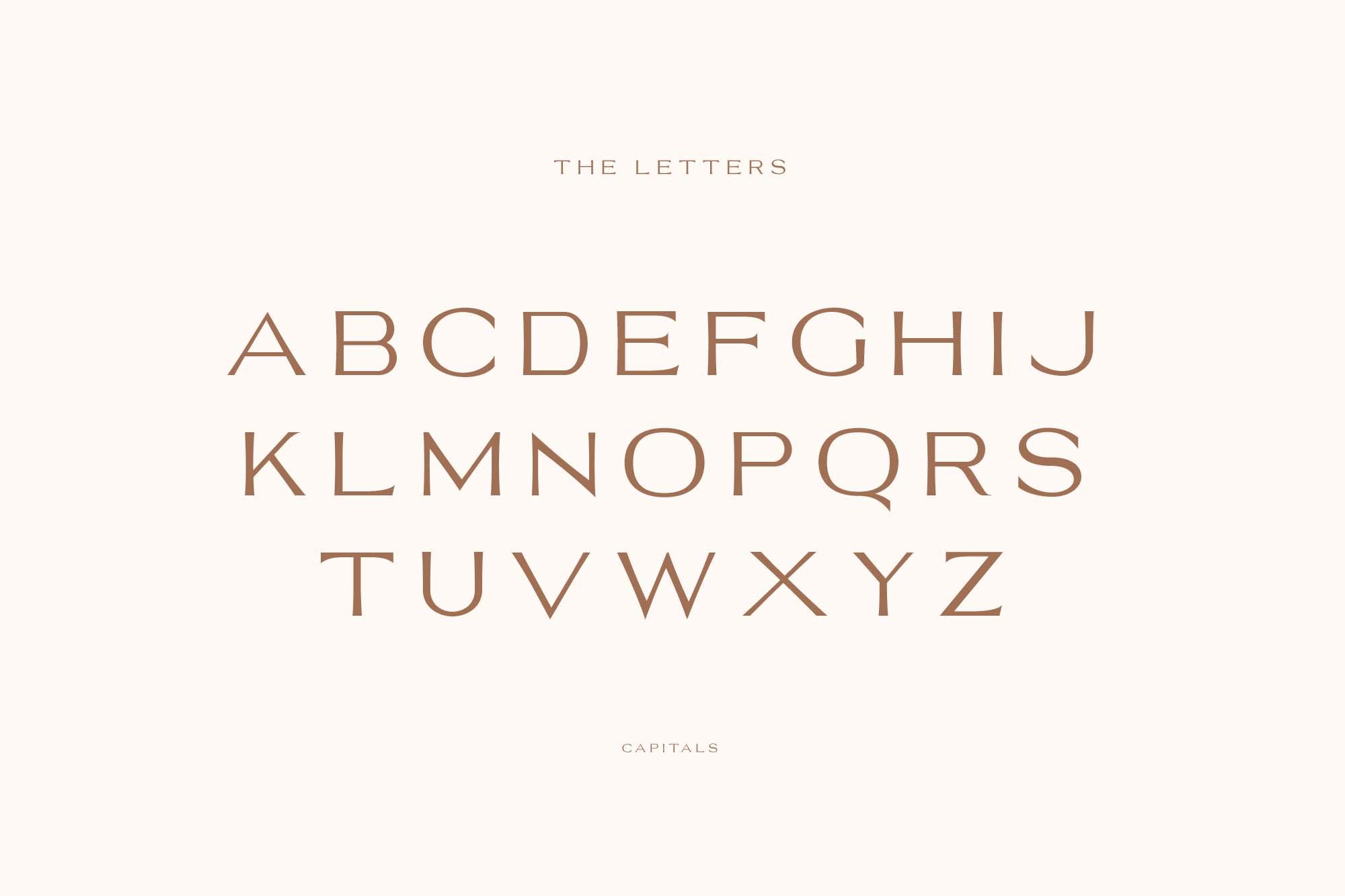 Trento Luxury Typeface 04