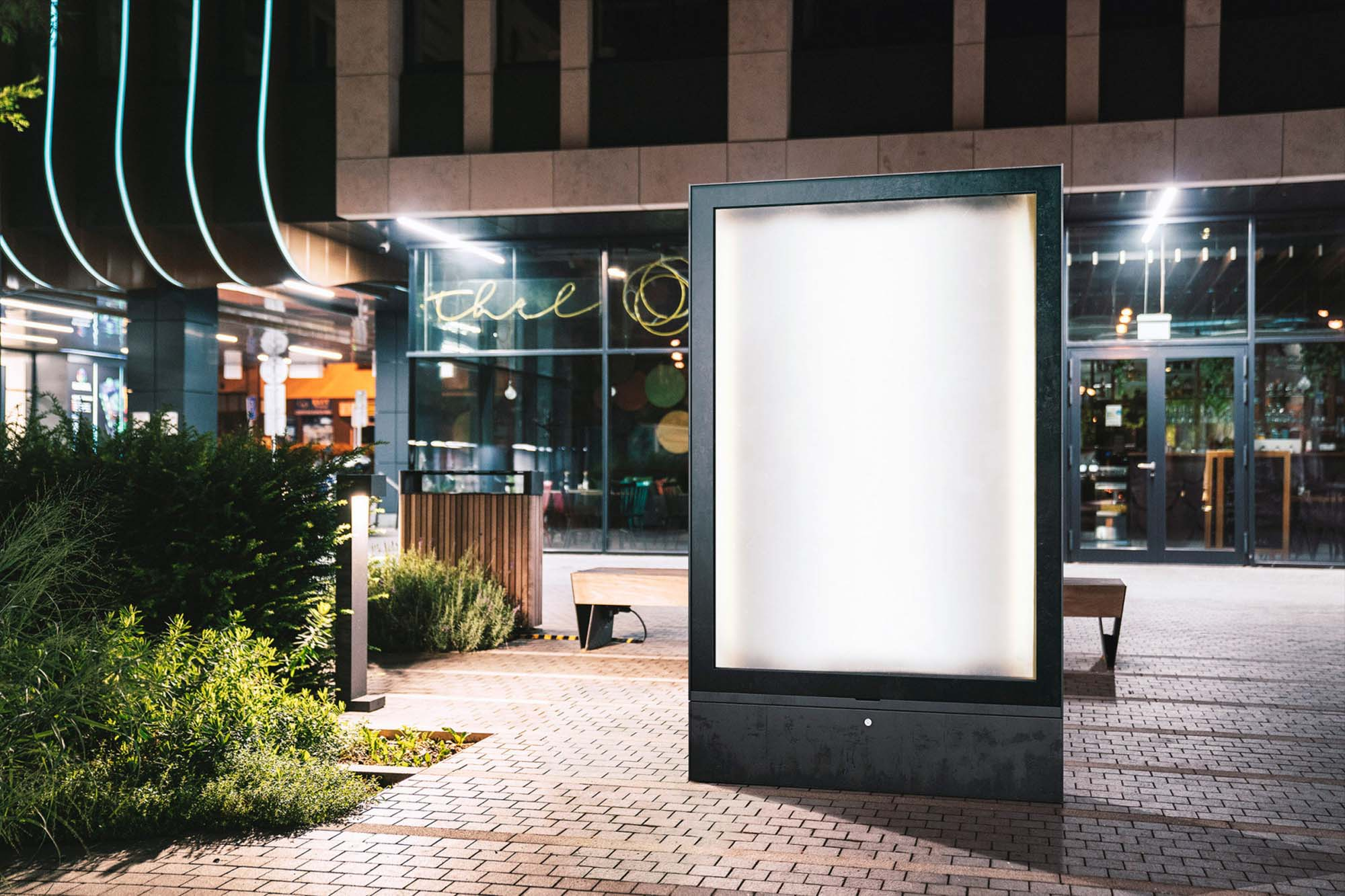Urban Lightbox Mockup 2