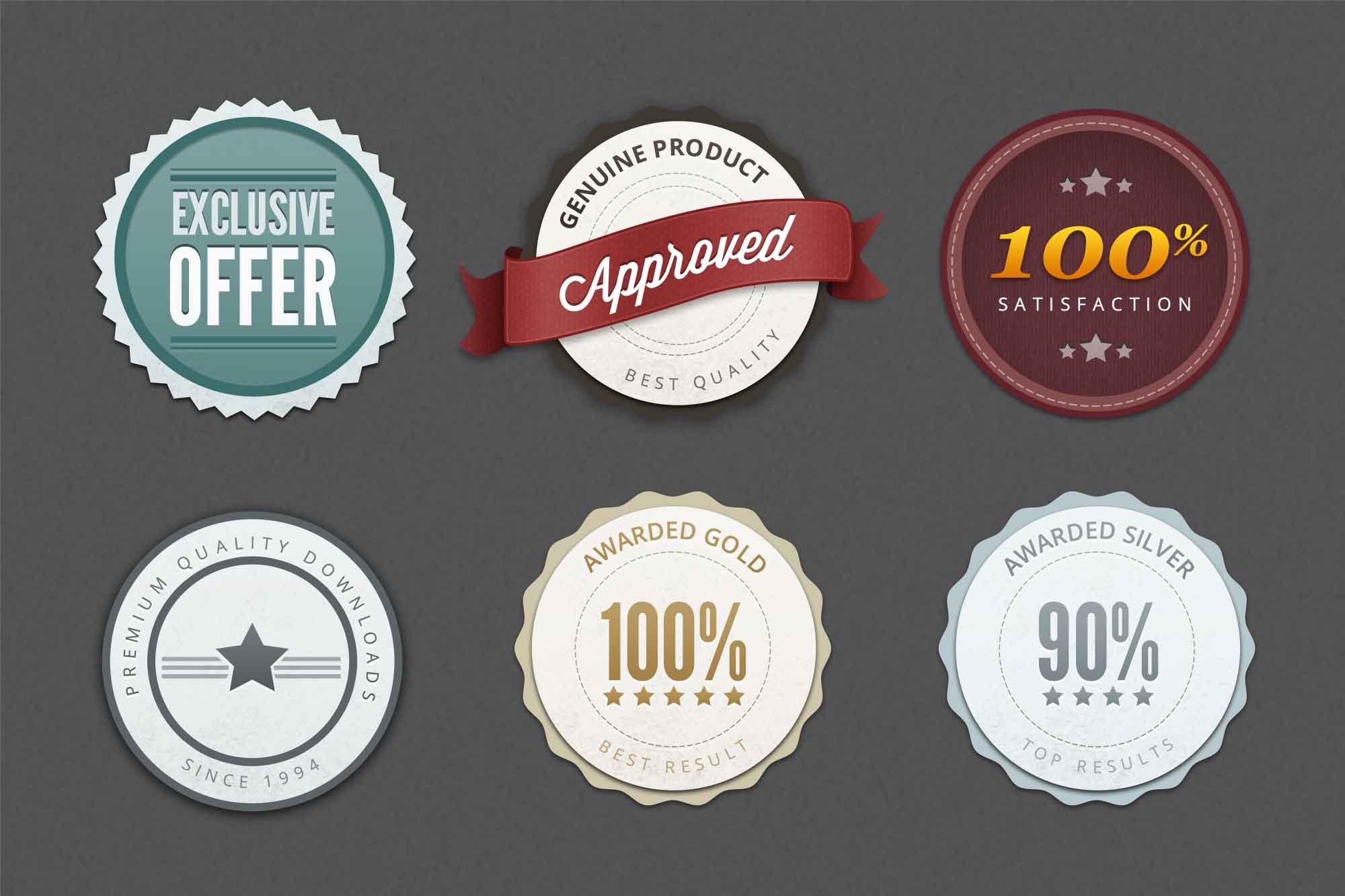 Web Badges & Elements