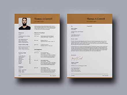 2 Column Resume Template