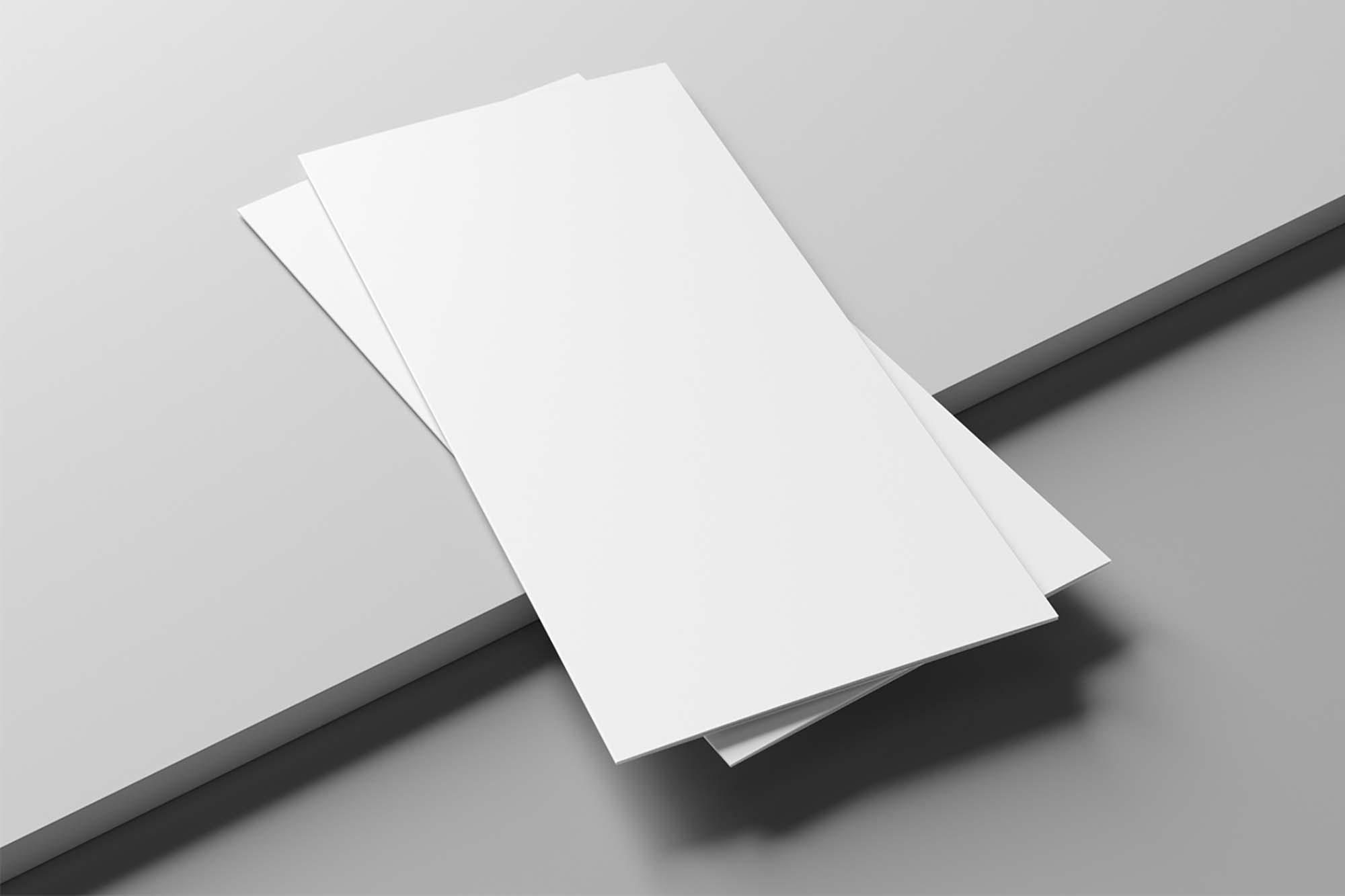2 Trifold Brochure Mockups 2