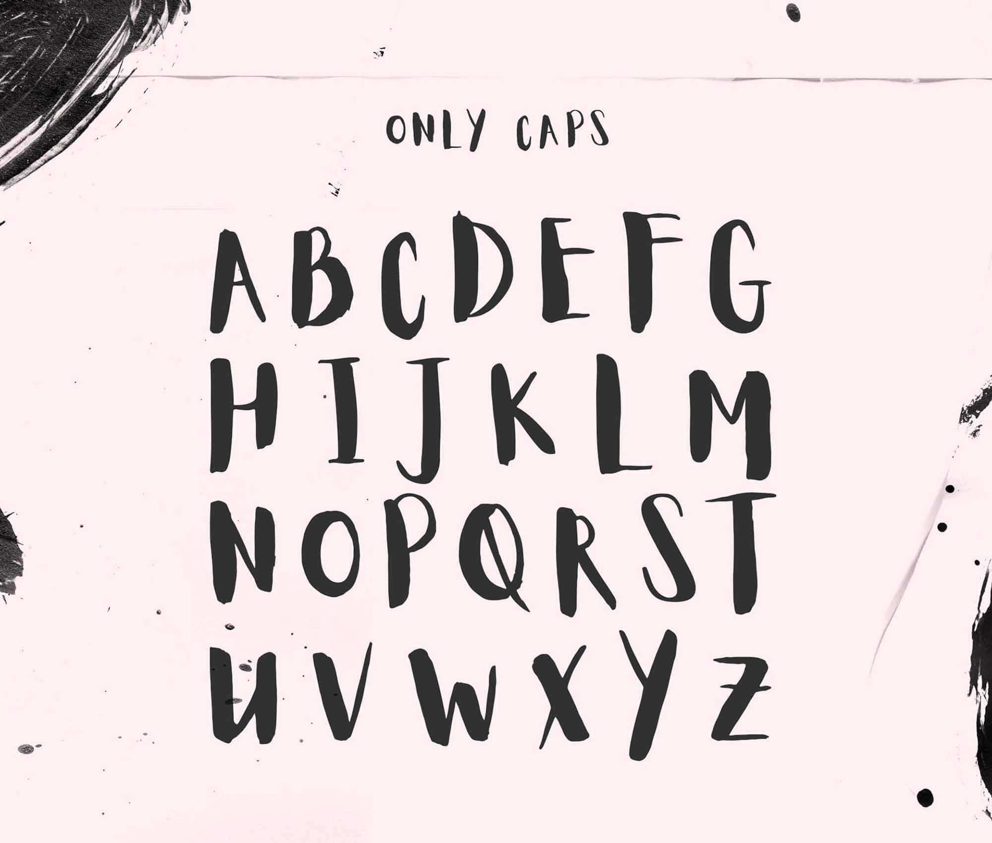 Aloja Handwritten Font 1