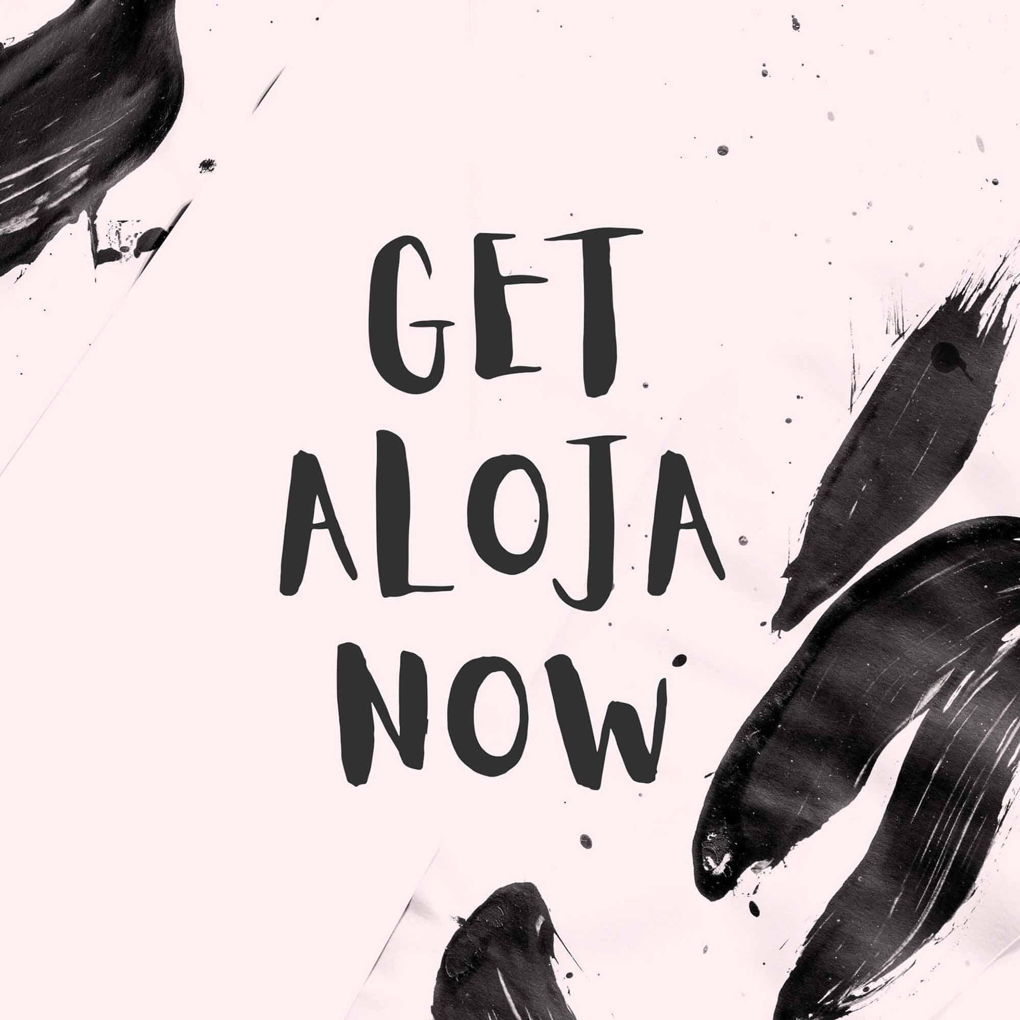Aloja Handwritten Font 8