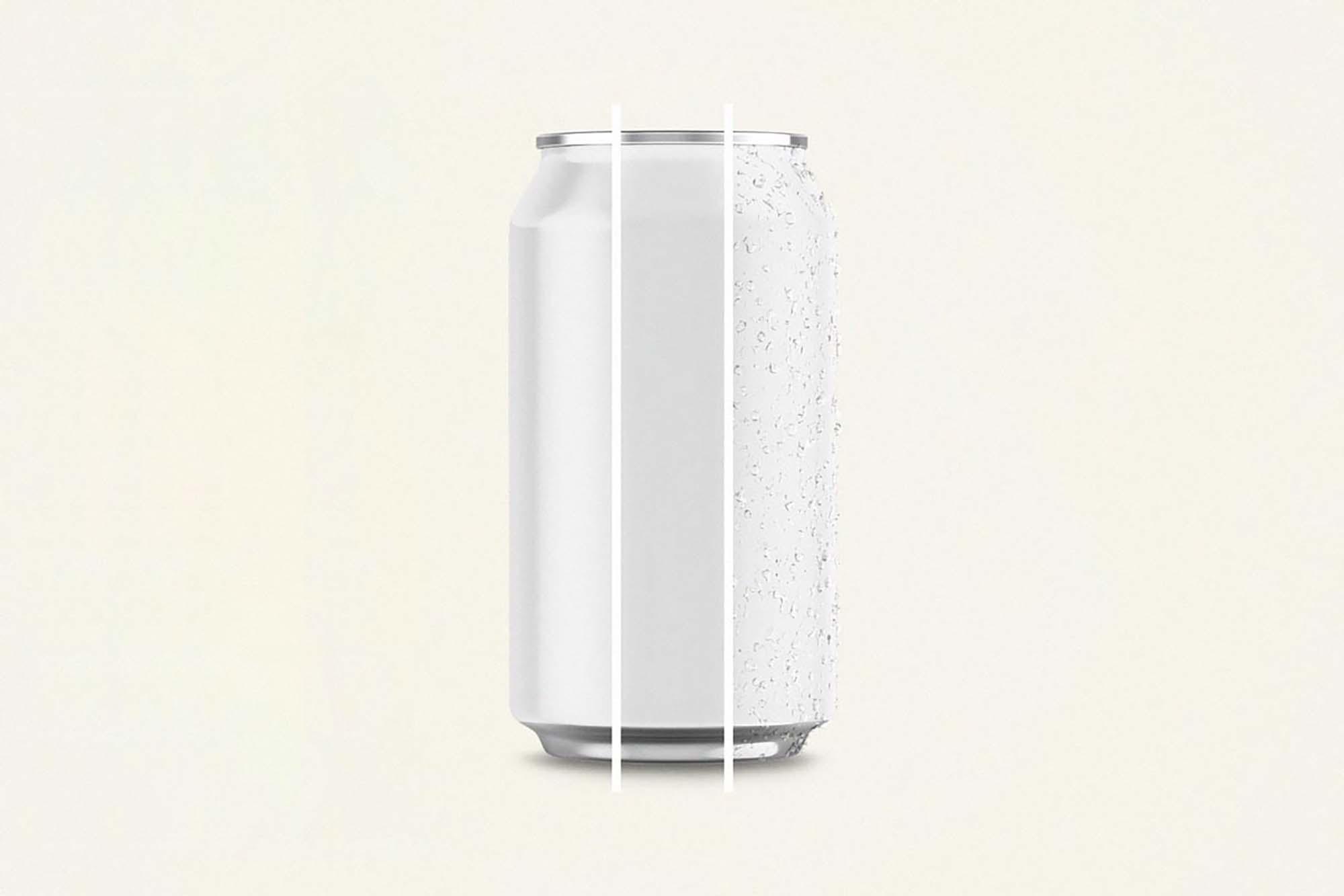 Aluminium Can Mockup 1