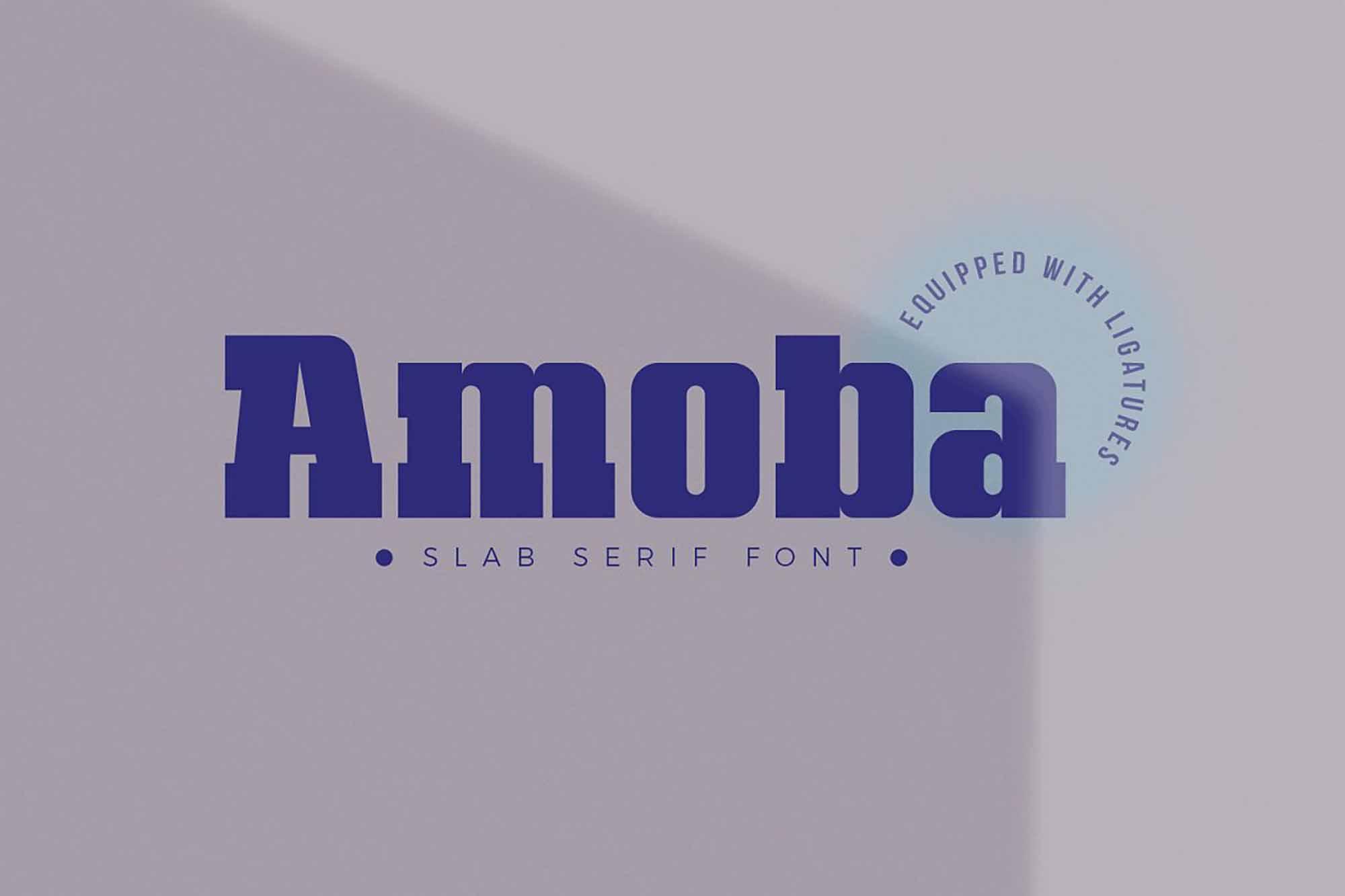 Amoba Slab Serif Font 6