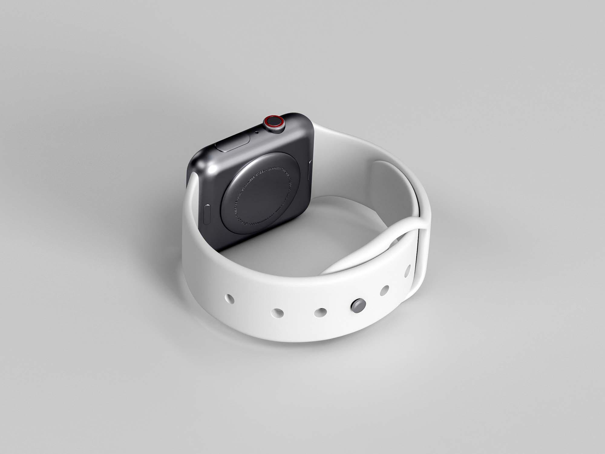 Apple Watch Series 5 3D Model 2